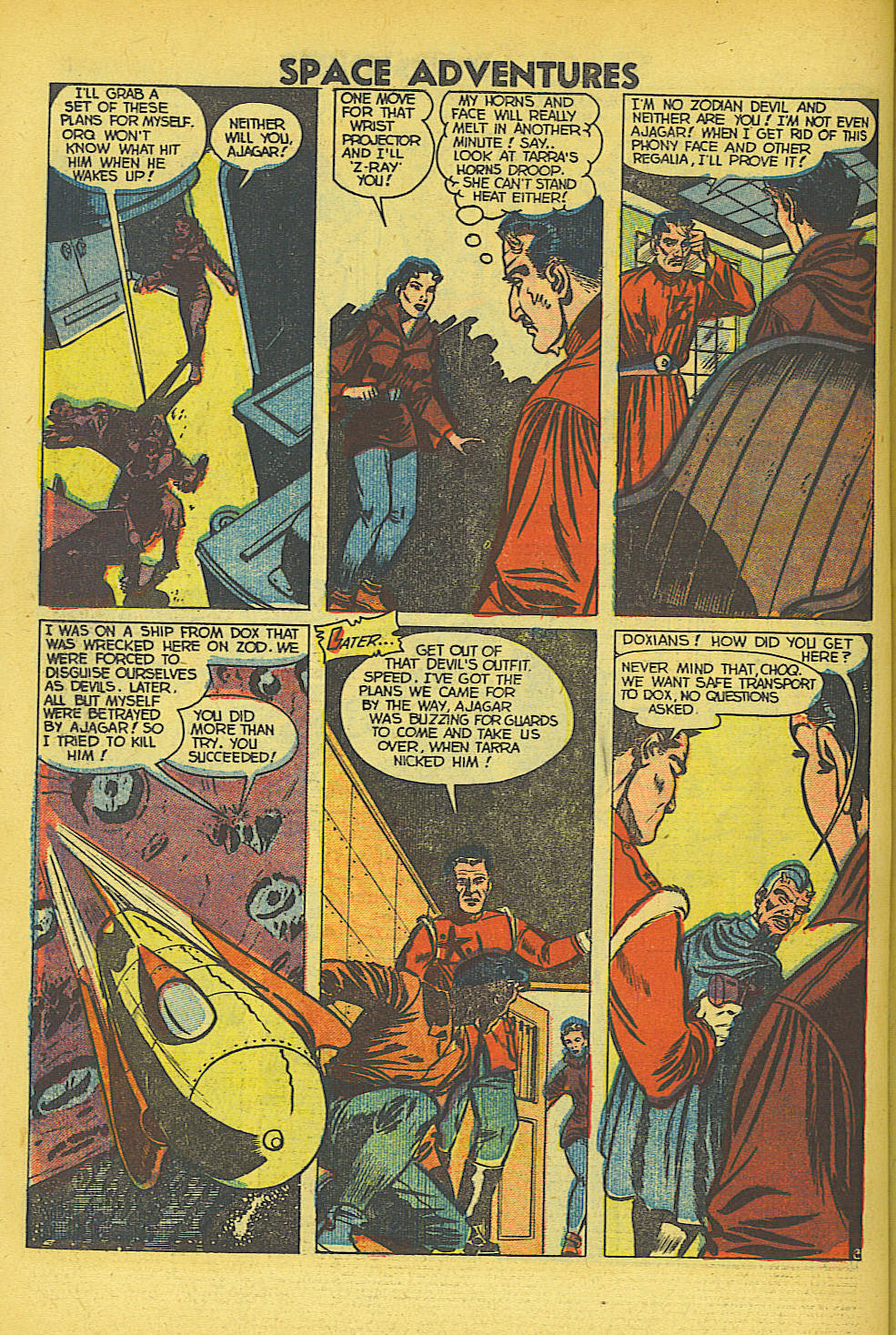 Space Adventures (1952) issue 5 - Page 23
