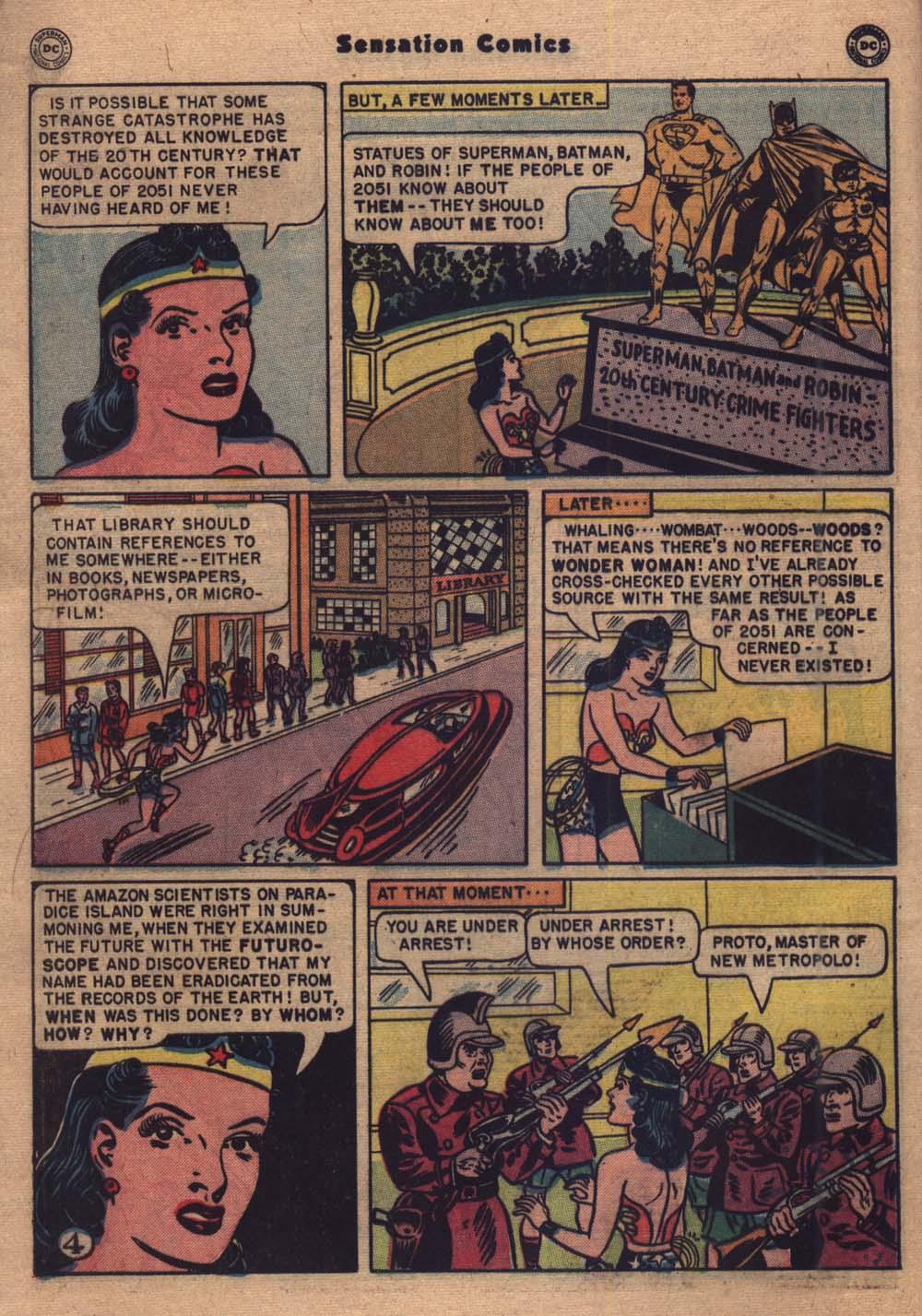 Read online Sensation (Mystery) Comics comic -  Issue #103 - 5