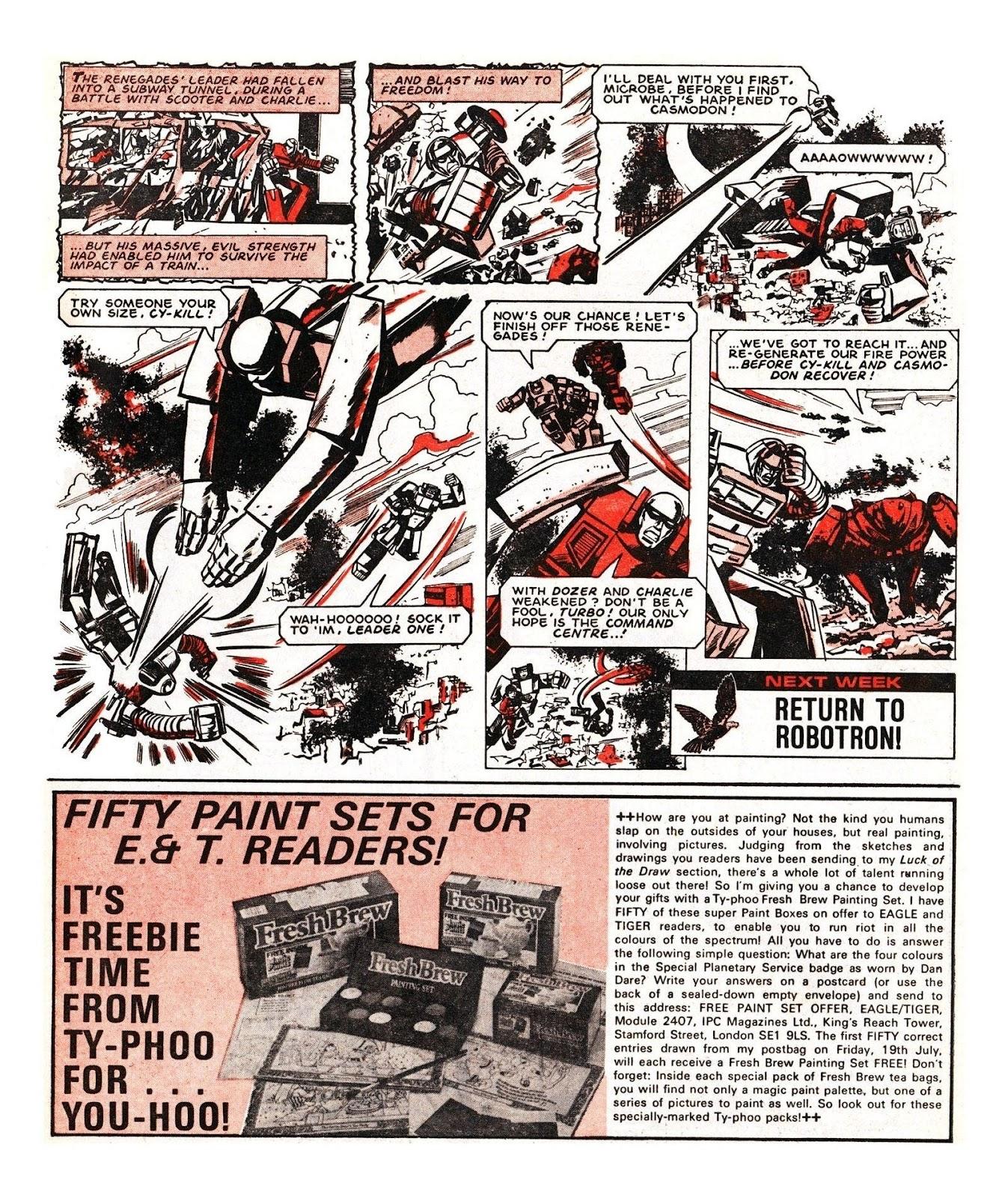 Read online Robo Machines comic -  Issue # TPB - 114