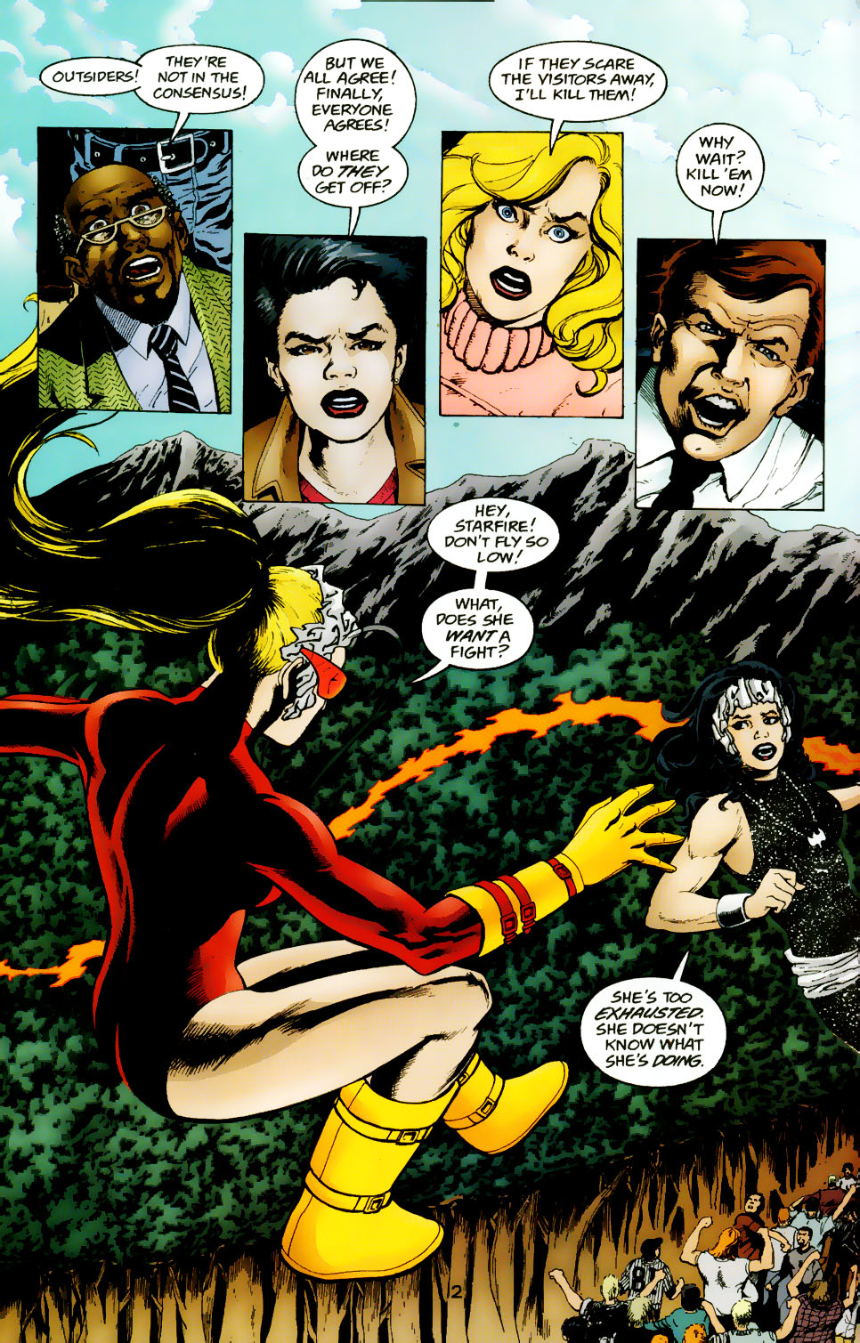 Read online The Titans (1999) comic -  Issue #50 - 3