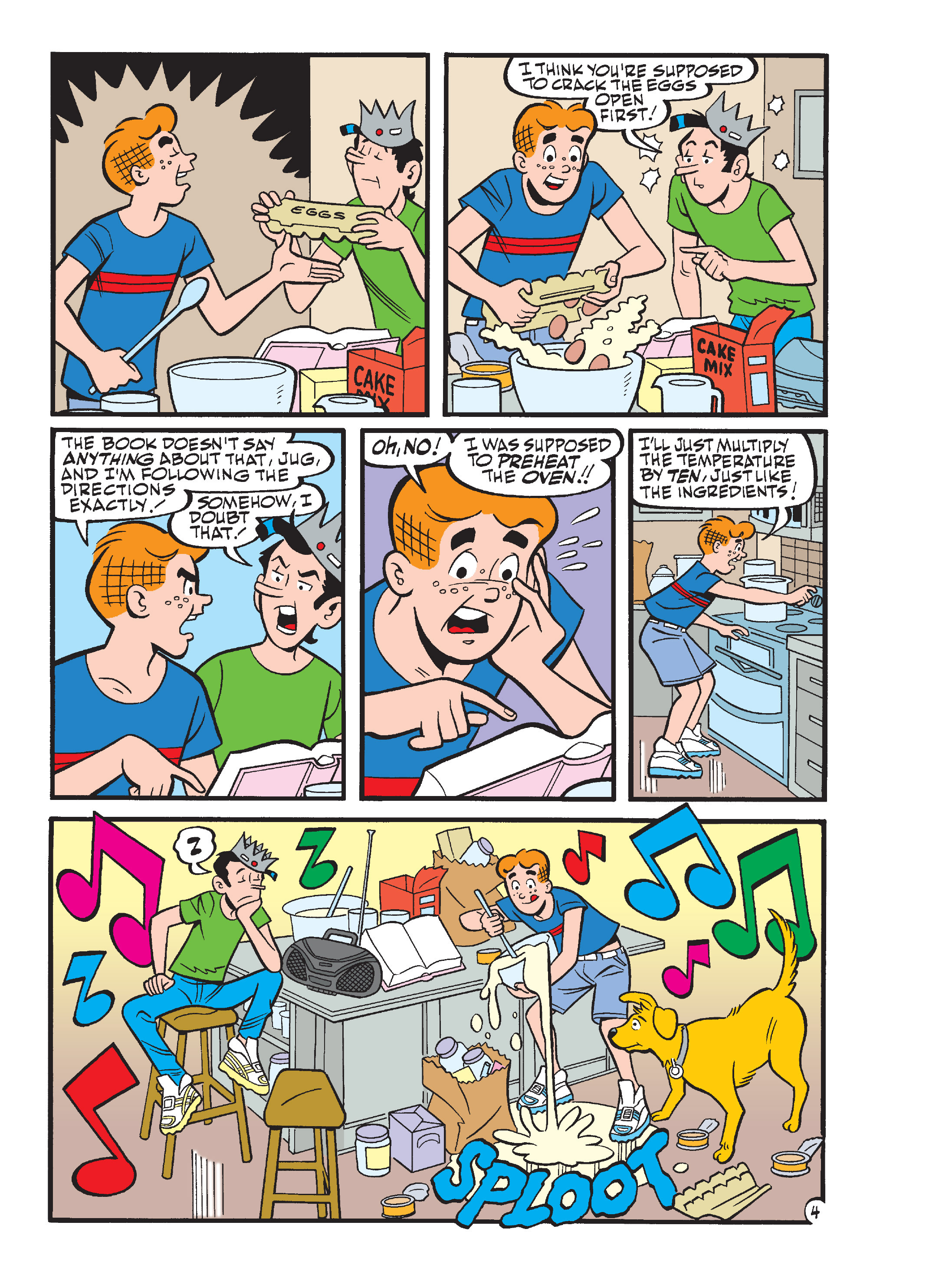 Read online Archie's Funhouse Double Digest comic -  Issue #17 - 5