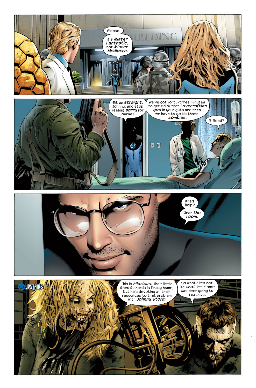 Read online Ultimate Fantastic Four (2004) comic -  Issue #32 - 6