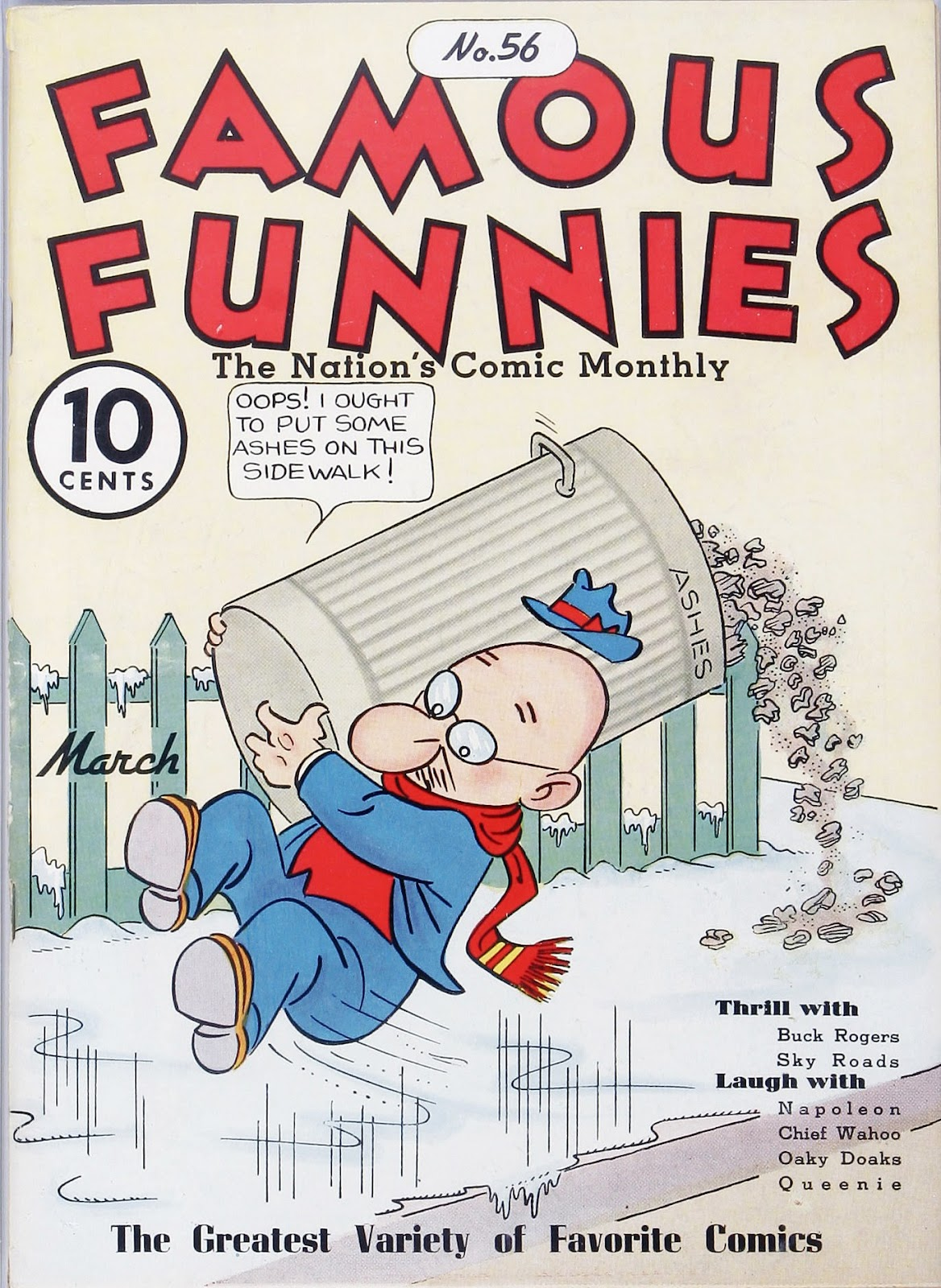 Read online Famous Funnies comic -  Issue #56 - 1