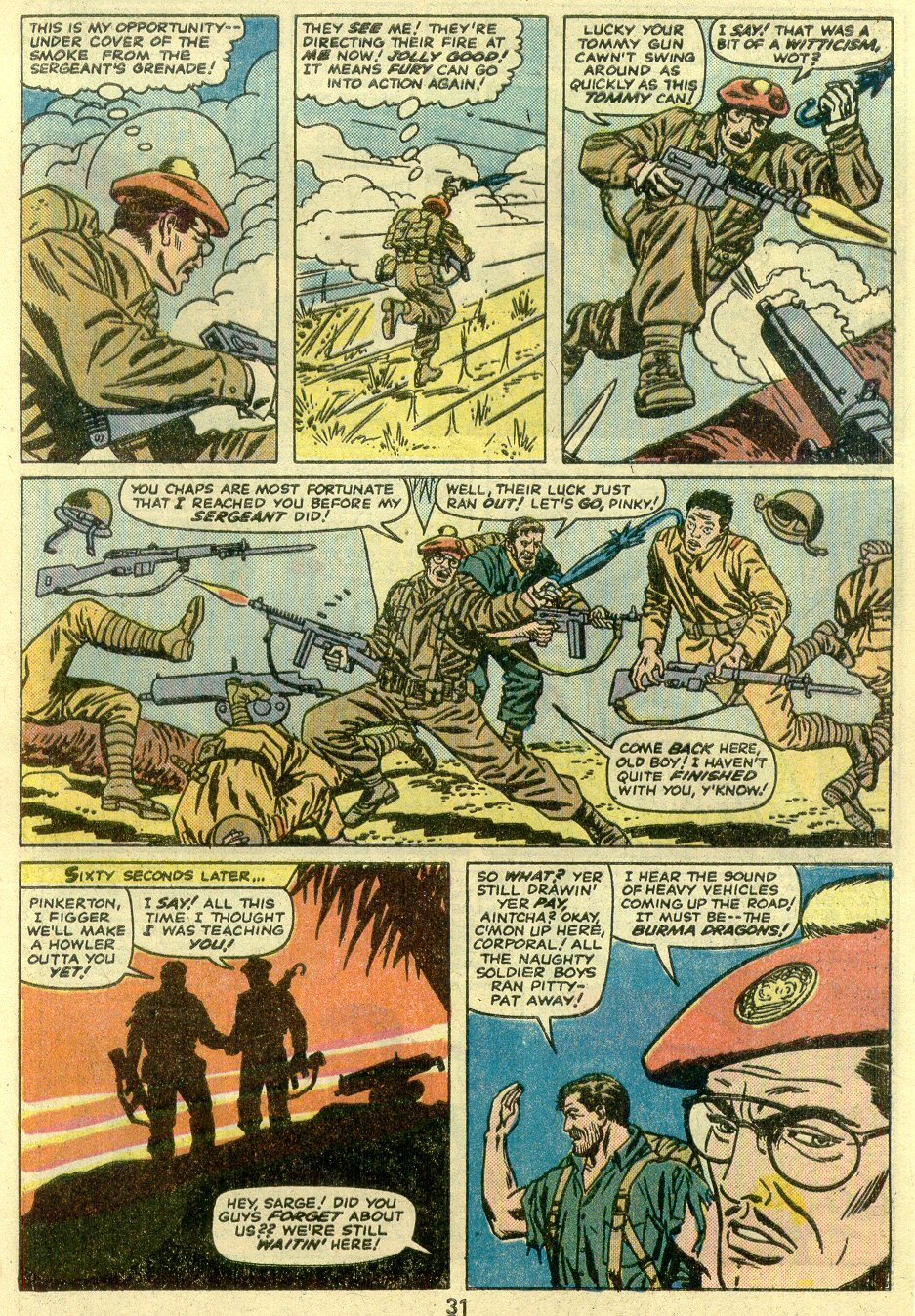 Read online Sgt. Fury comic -  Issue #125 - 33