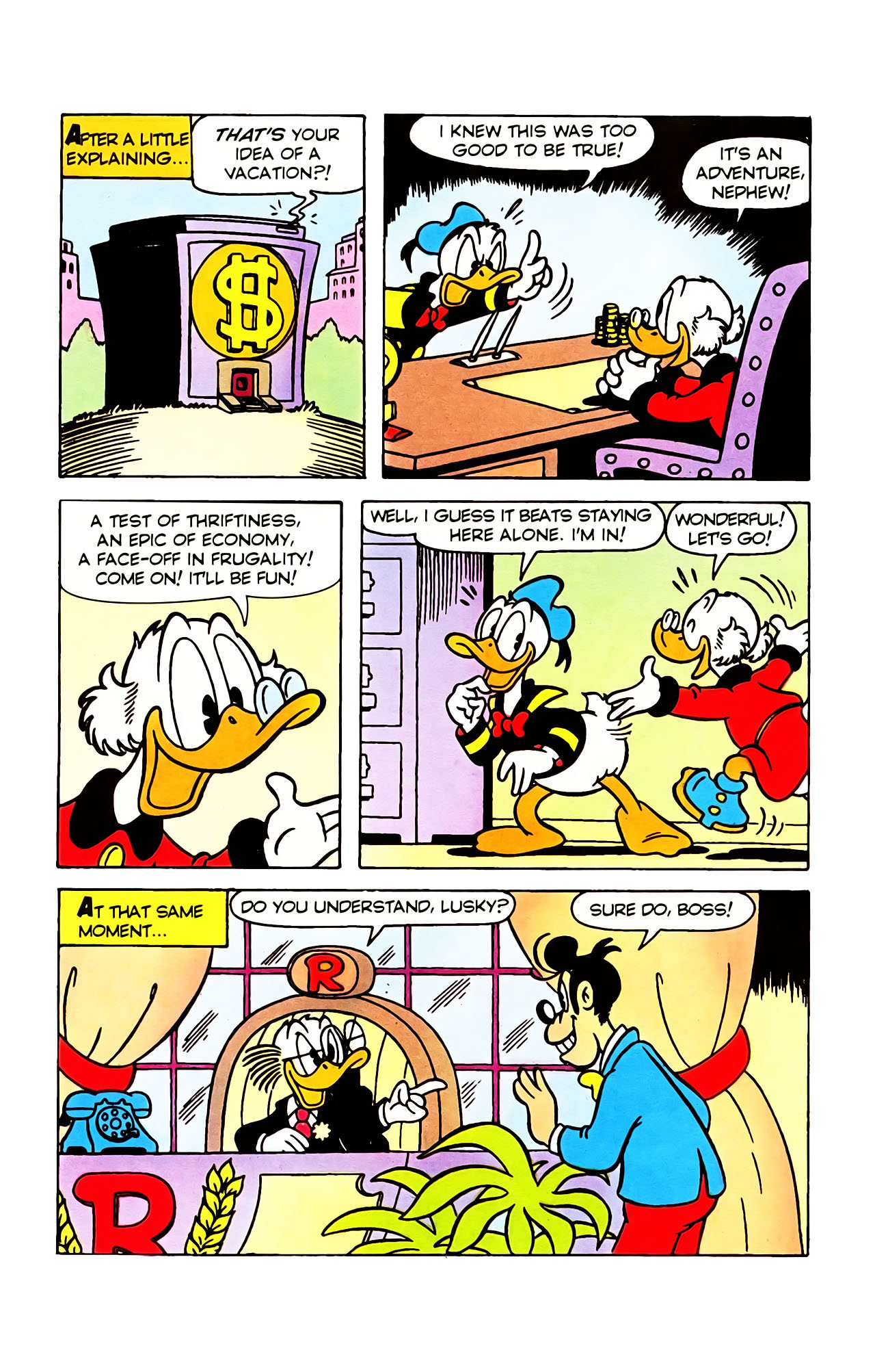 Read online Uncle Scrooge (1953) comic -  Issue #388 - 11