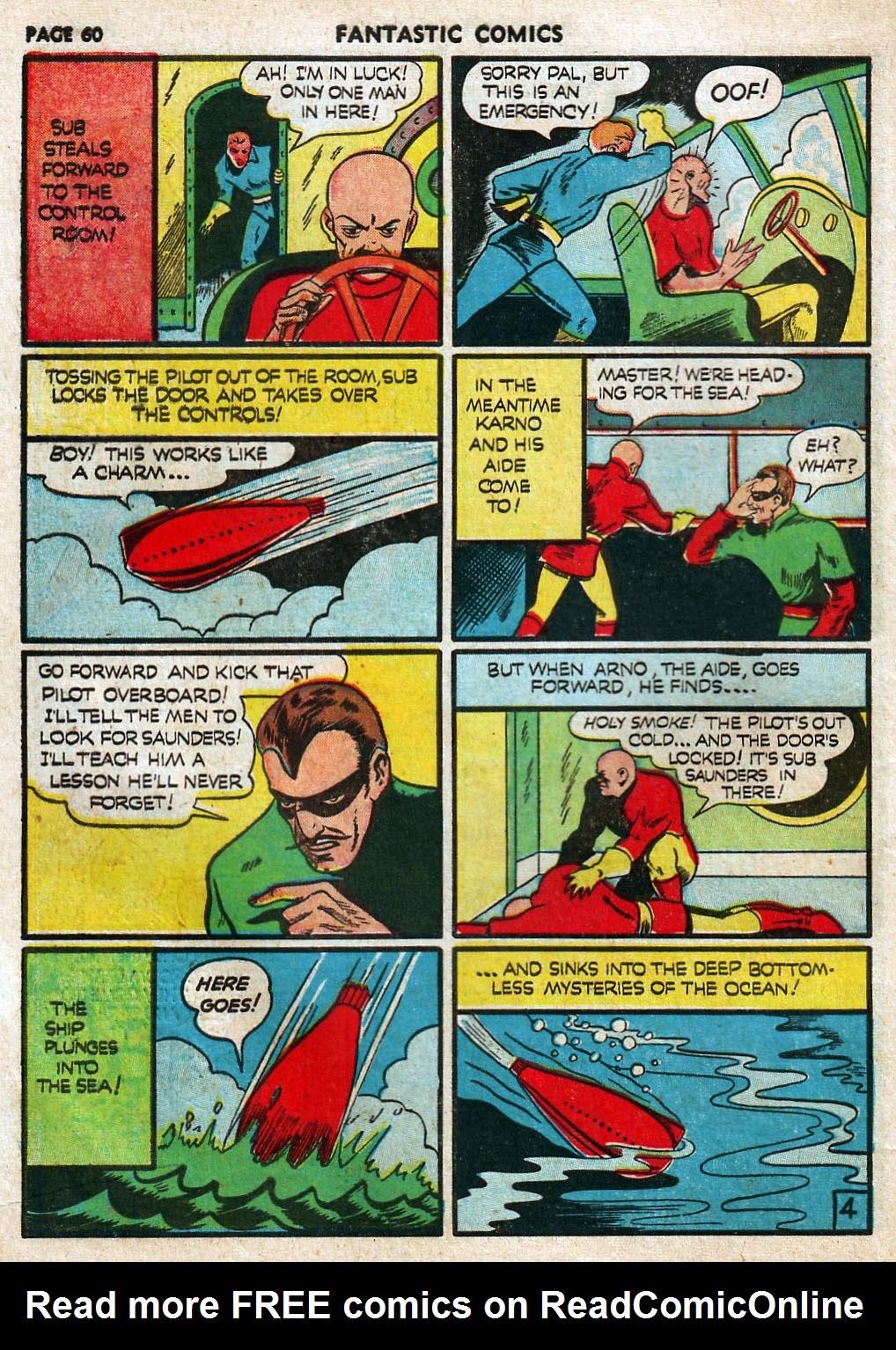 Read online Fantastic Comics comic -  Issue #17 - 61