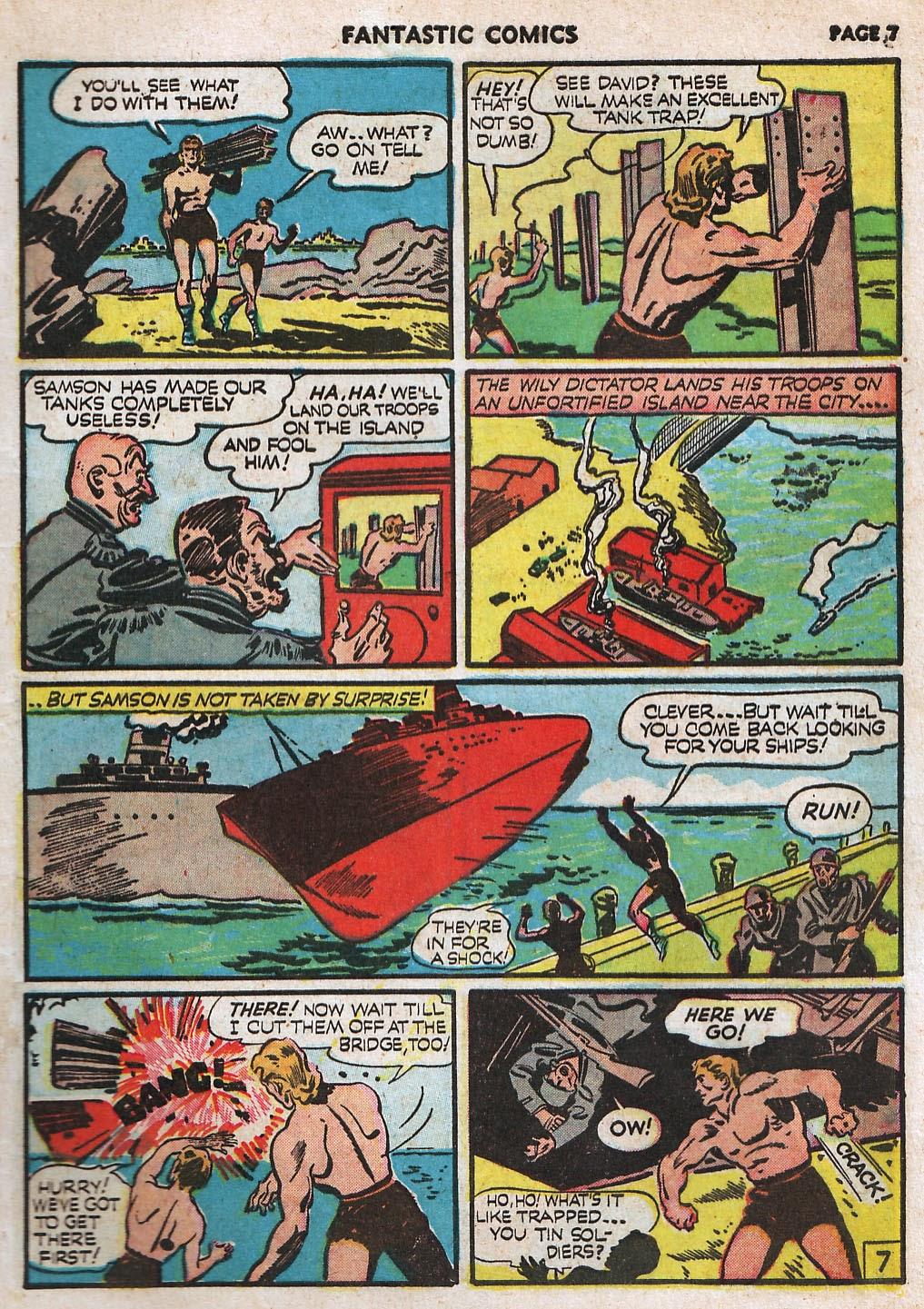 Read online Fantastic Comics comic -  Issue #17 - 9