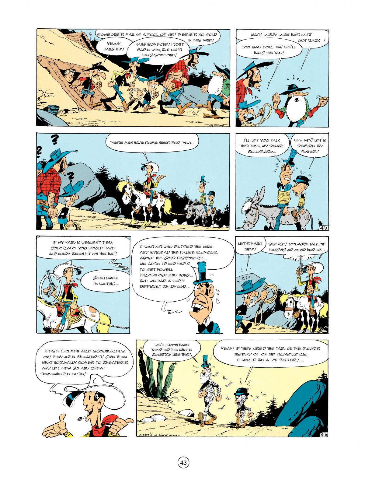 Read online A Lucky Luke Adventure comic -  Issue #2 - 45