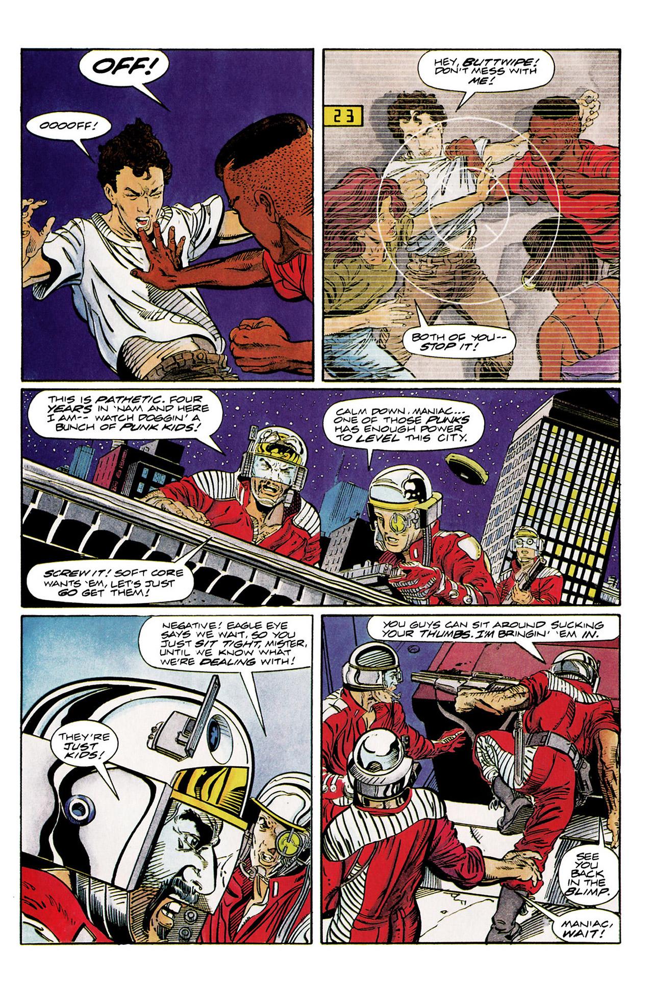 Read online Harbinger (1992) comic -  Issue #10 - 18