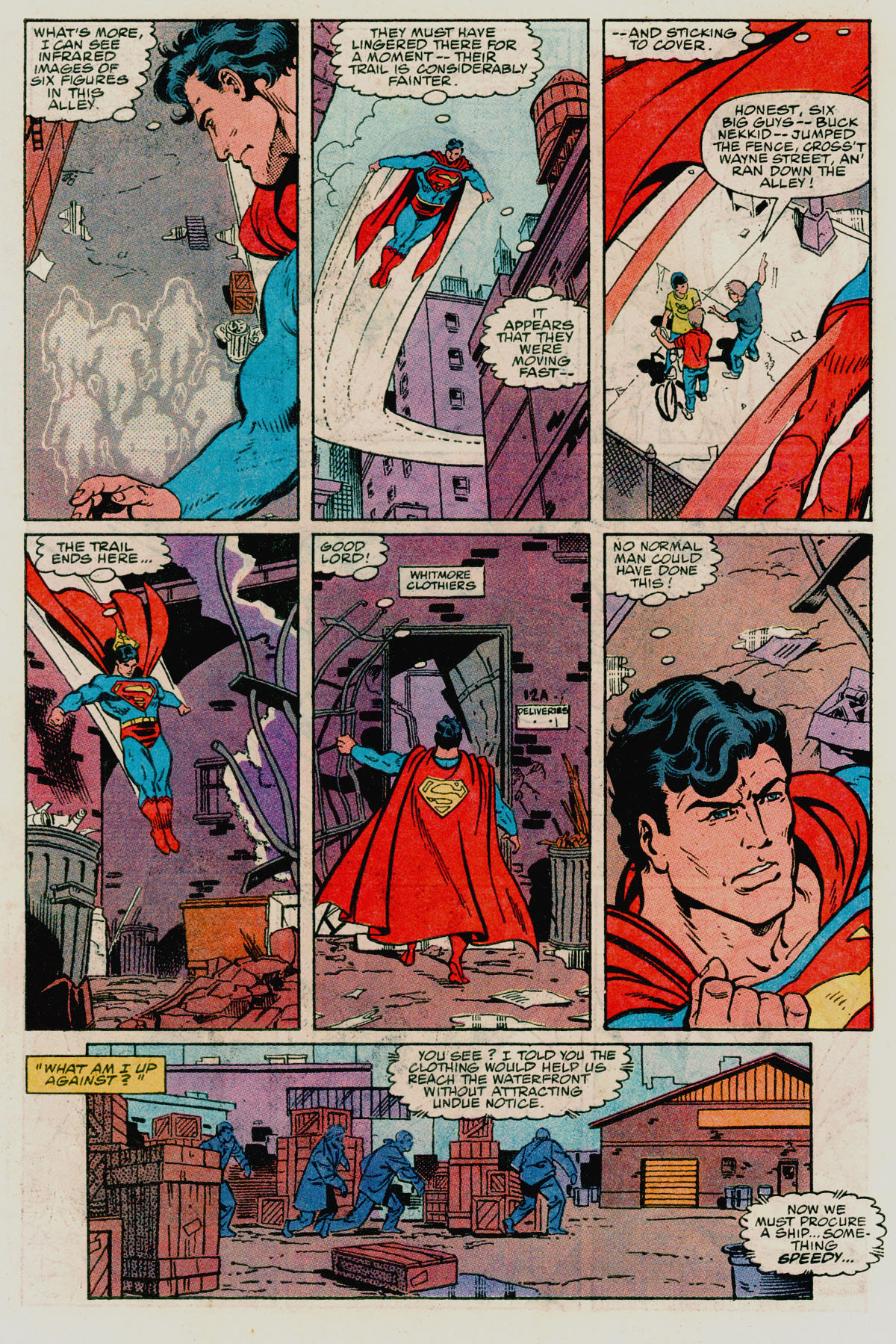Read online Action Comics (1938) comic -  Issue #665 - 21