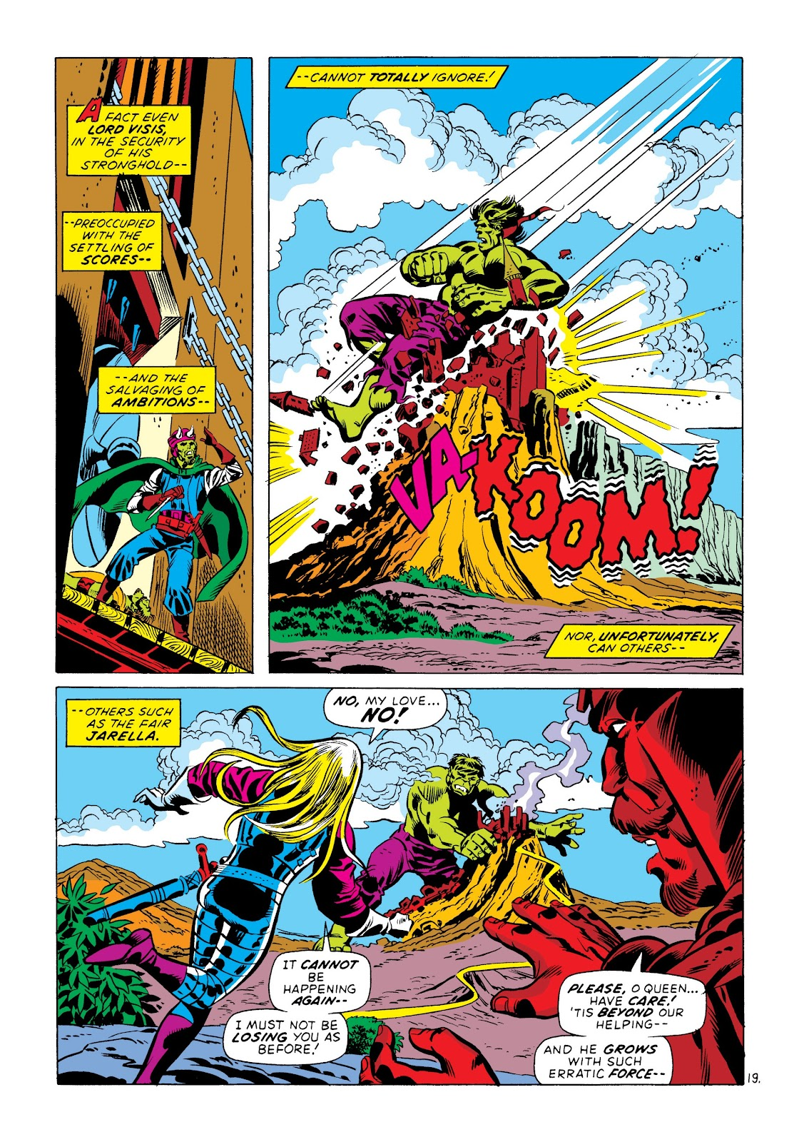 Read online Marvel Masterworks: The Incredible Hulk comic -  Issue # TPB 8 (Part 3) - 80