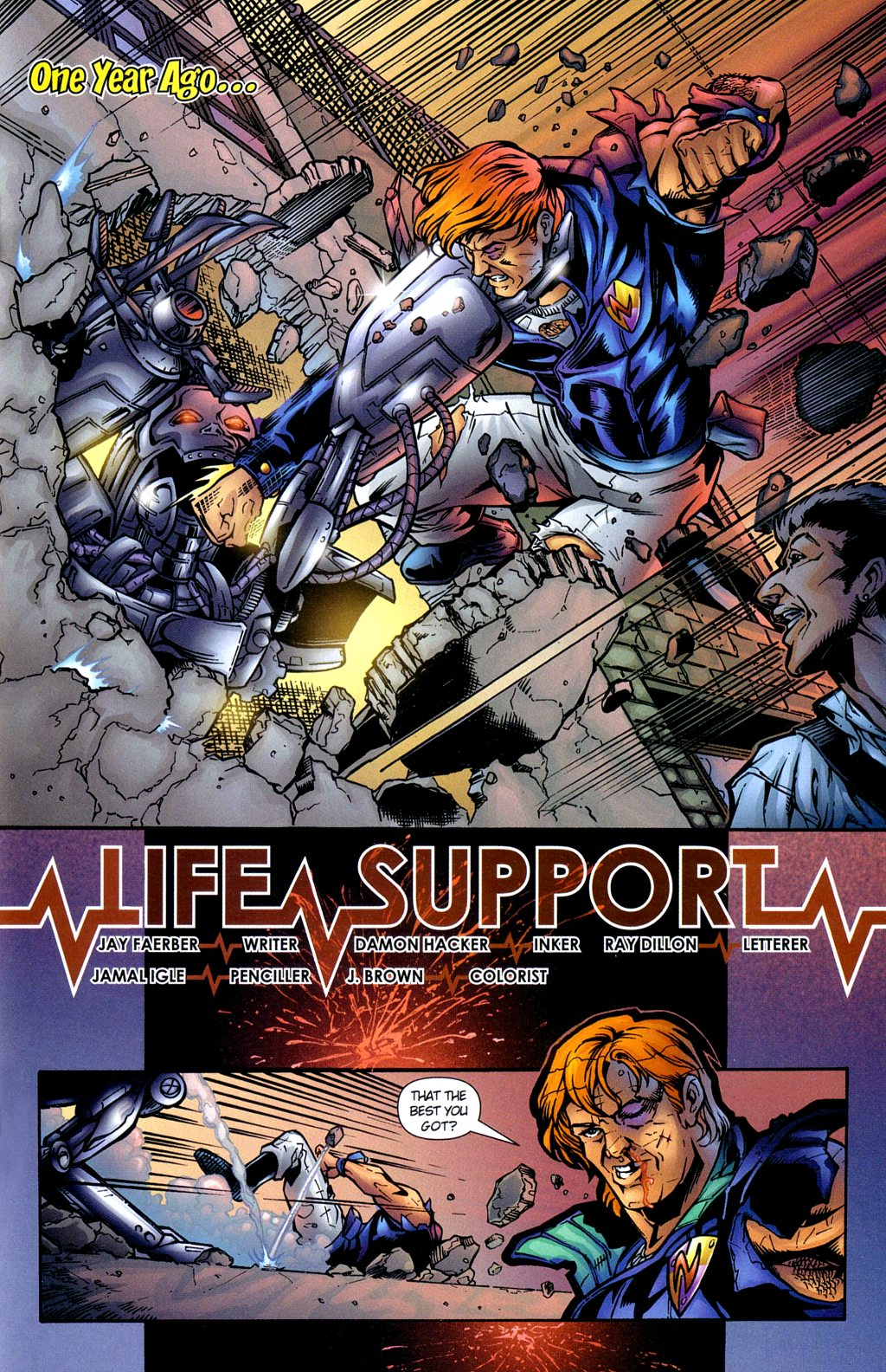 Read online Noble Causes (2002) comic -  Issue #2 - 20