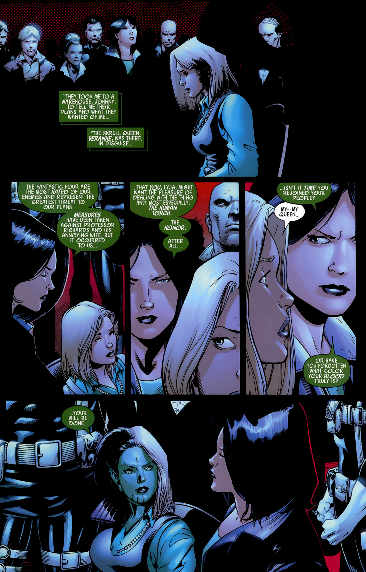 Read online Secret Invasion: Fantastic Four comic -  Issue #3 - 13