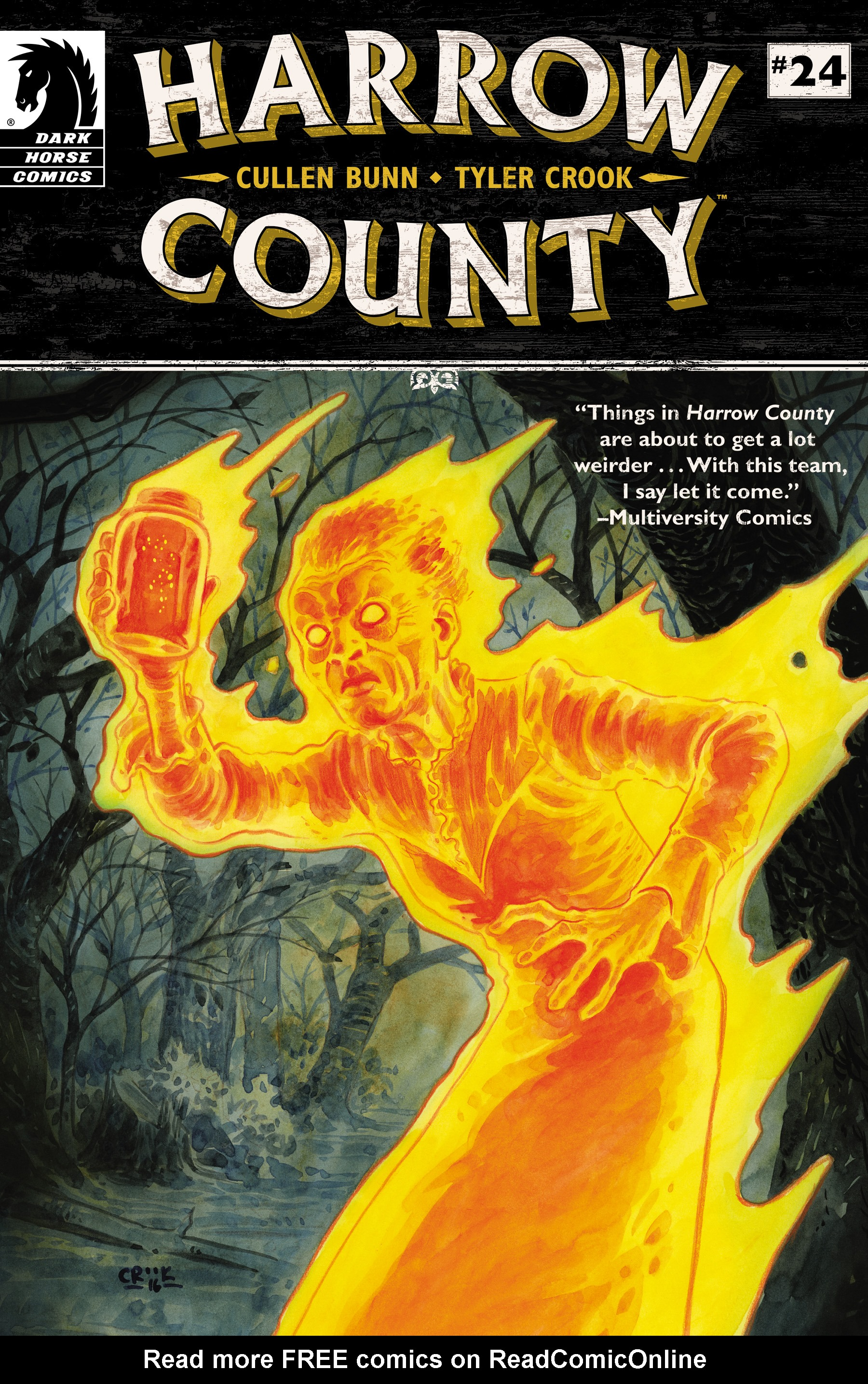 Read online Harrow County comic -  Issue #24 - 1