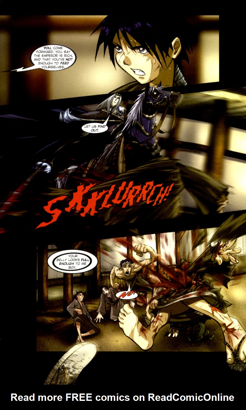 Read online Shidima comic -  Issue #1 - 13