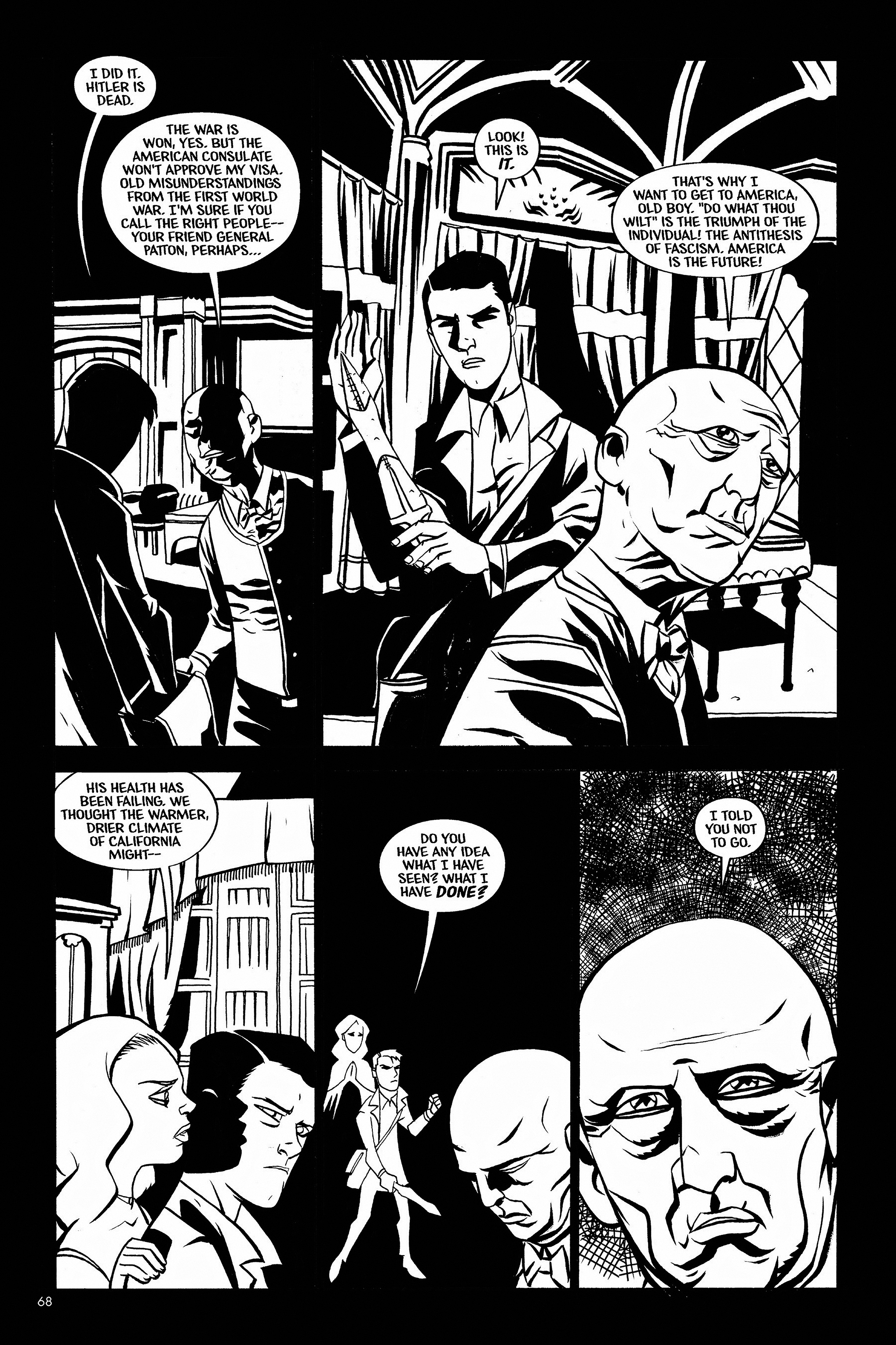 Read online Aleister & Adolf comic -  Issue # TPB - 66