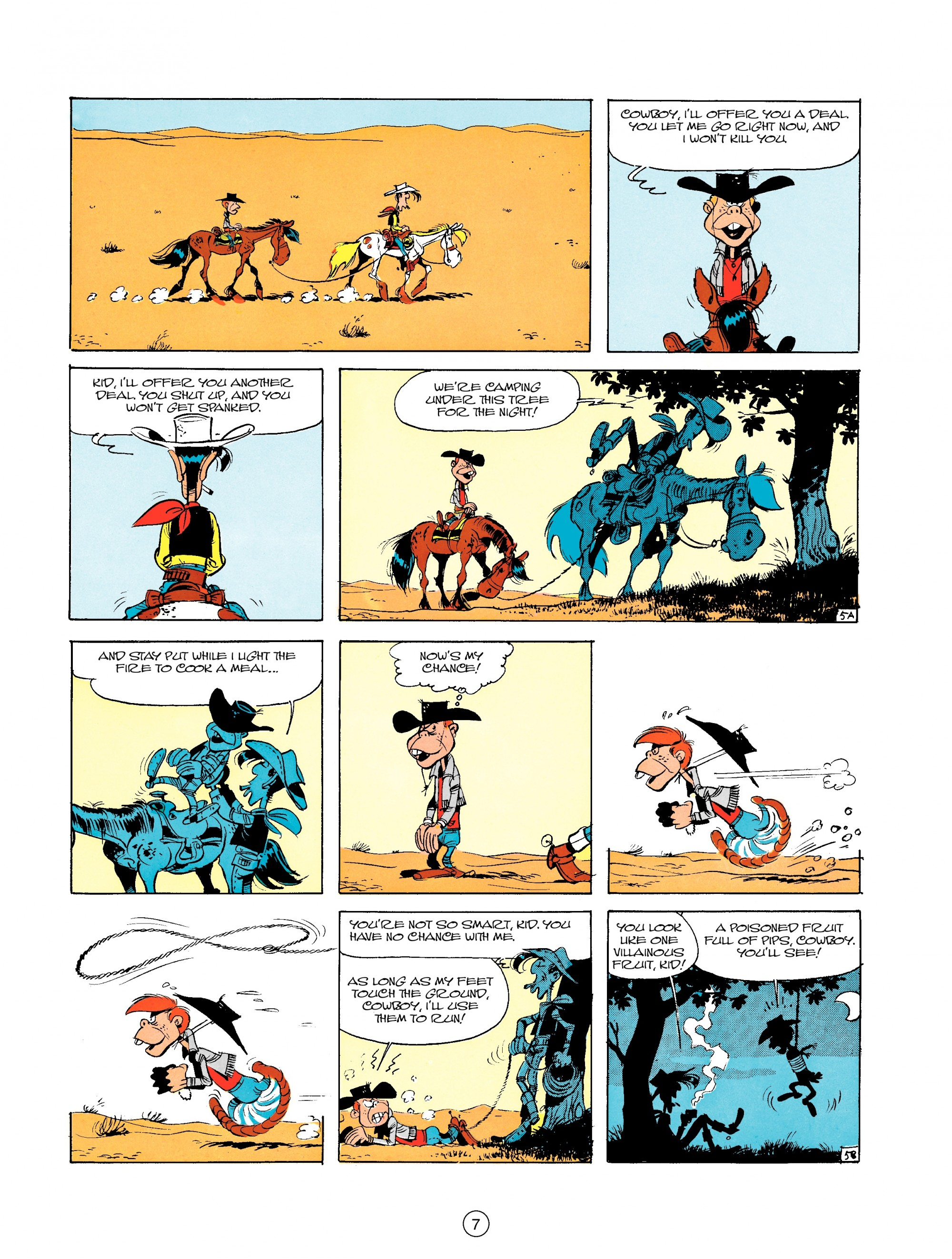 Read online A Lucky Luke Adventure comic -  Issue #18 - 7