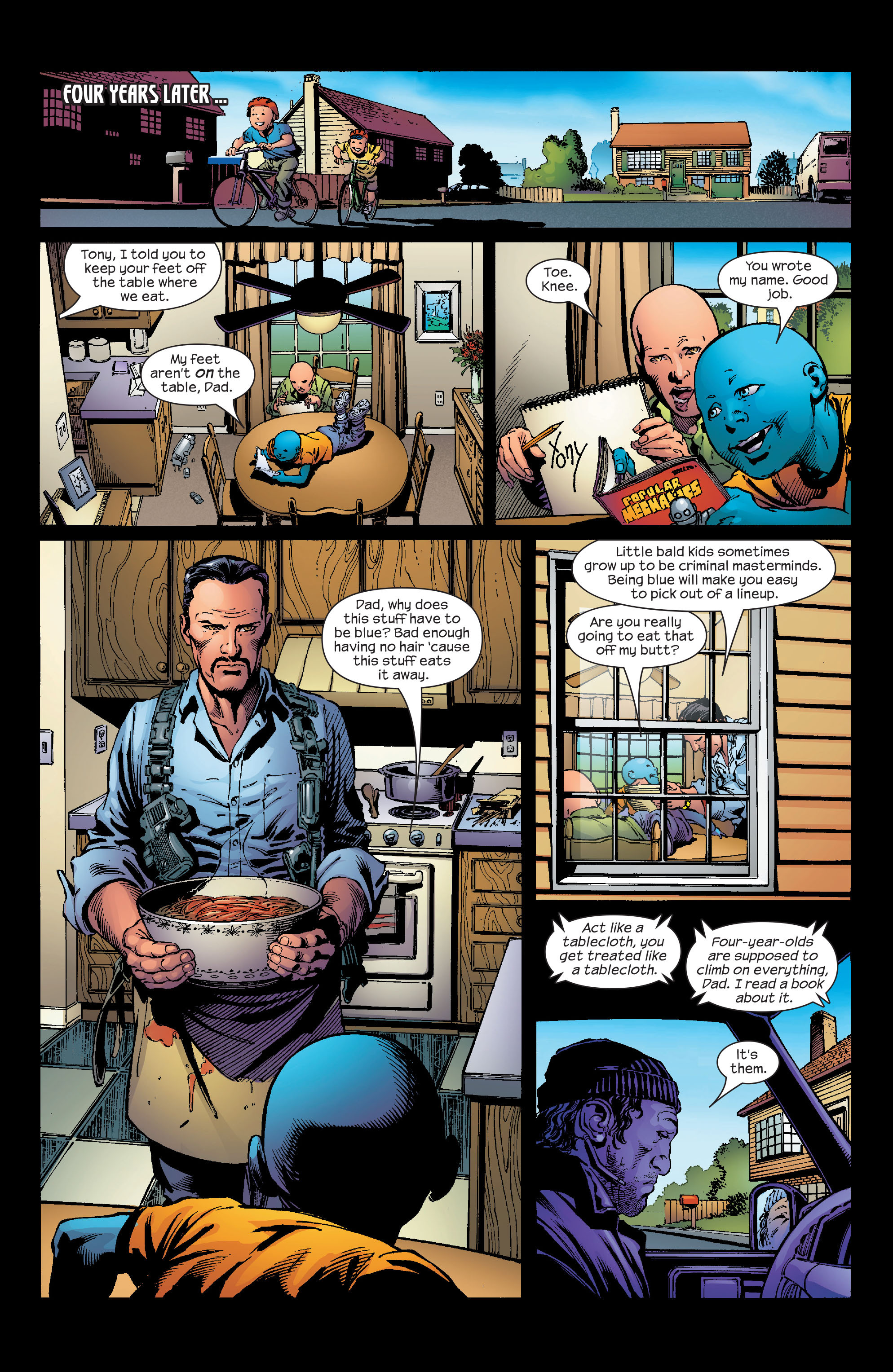 Read online Ultimate Iron Man (2005) comic -  Issue #2 - 18