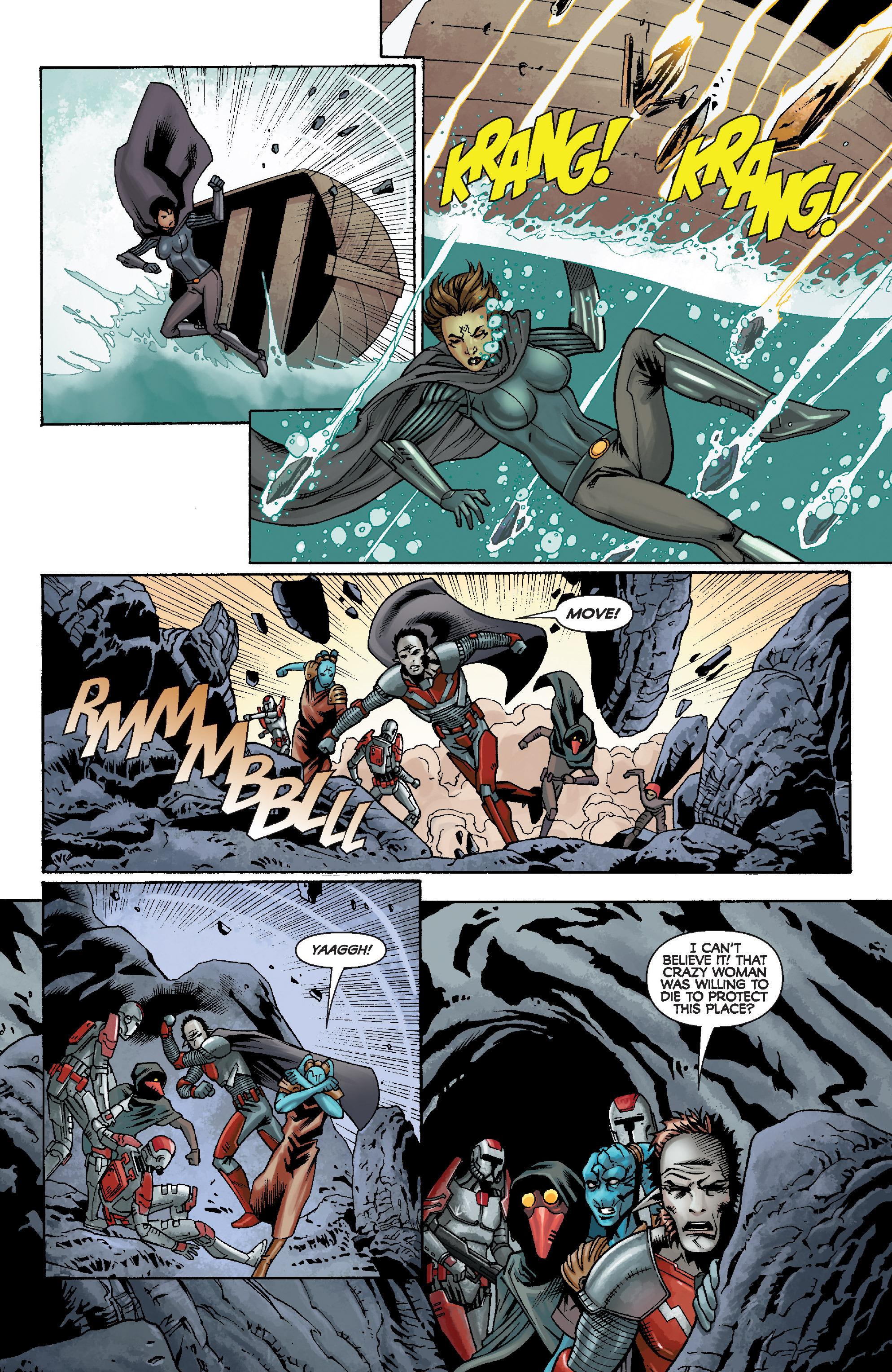 Read online Star Wars: Knight Errant - Escape comic -  Issue #2 - 22