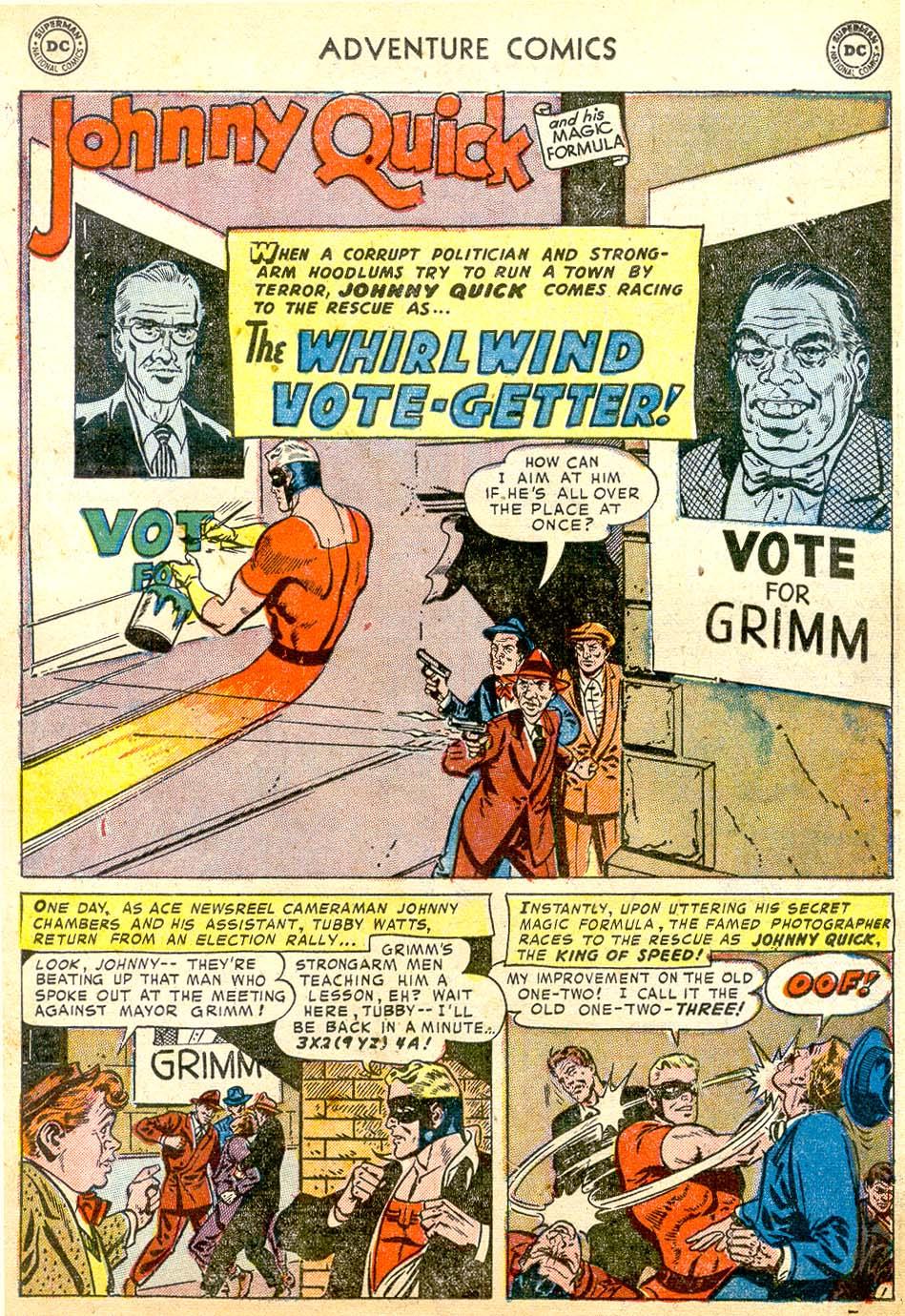 Read online Adventure Comics (1938) comic -  Issue #183 - 25