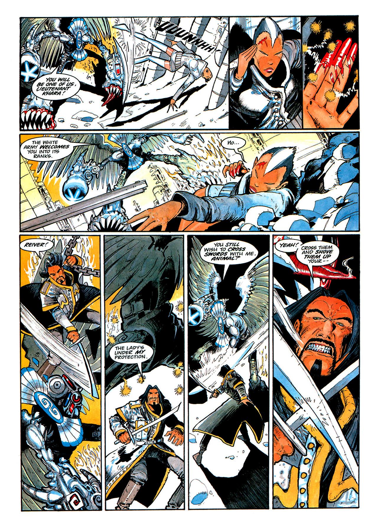 Read online Nikolai Dante comic -  Issue # TPB 1 - 173