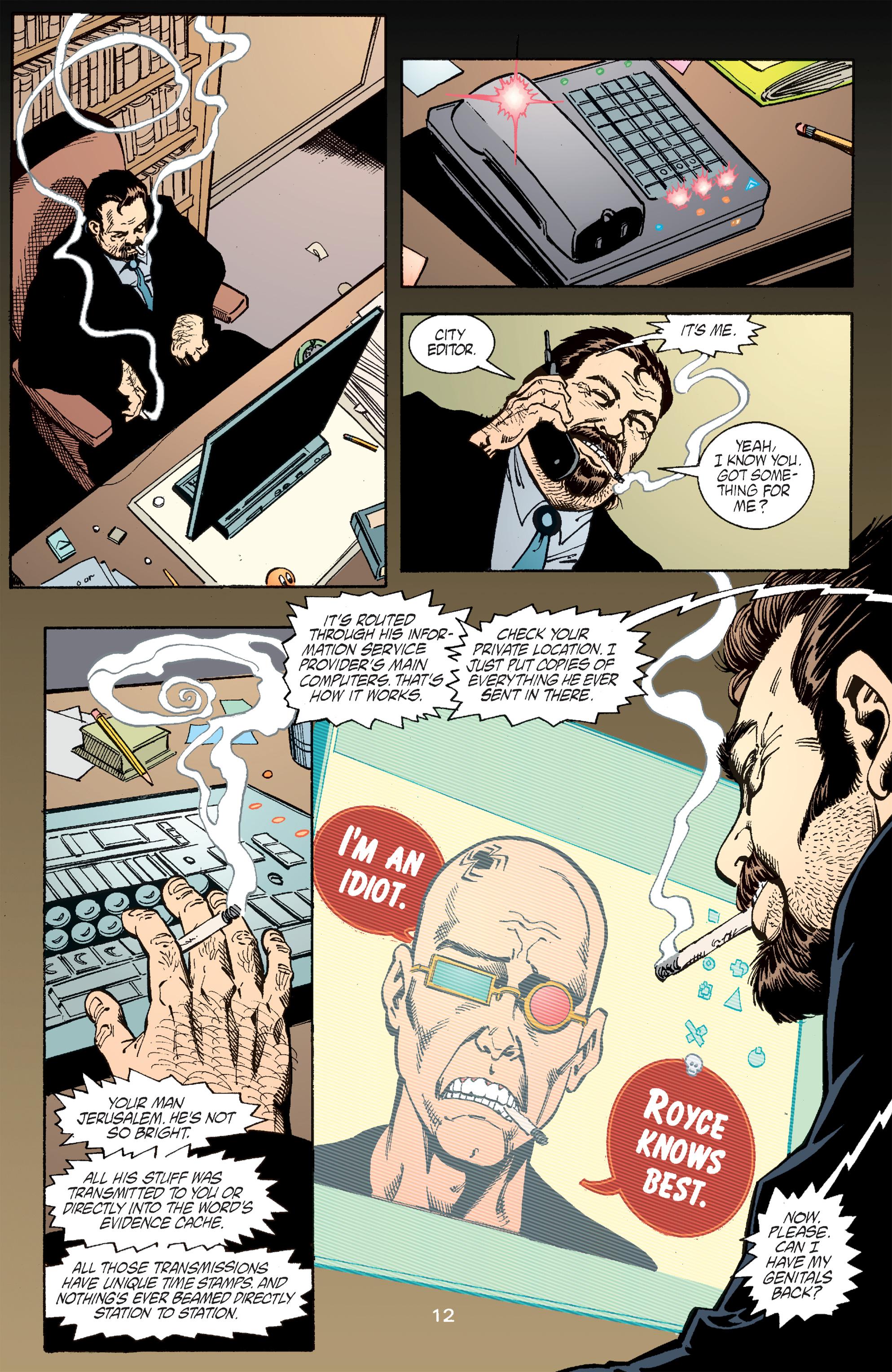 Read online Transmetropolitan comic -  Issue #51 - 13