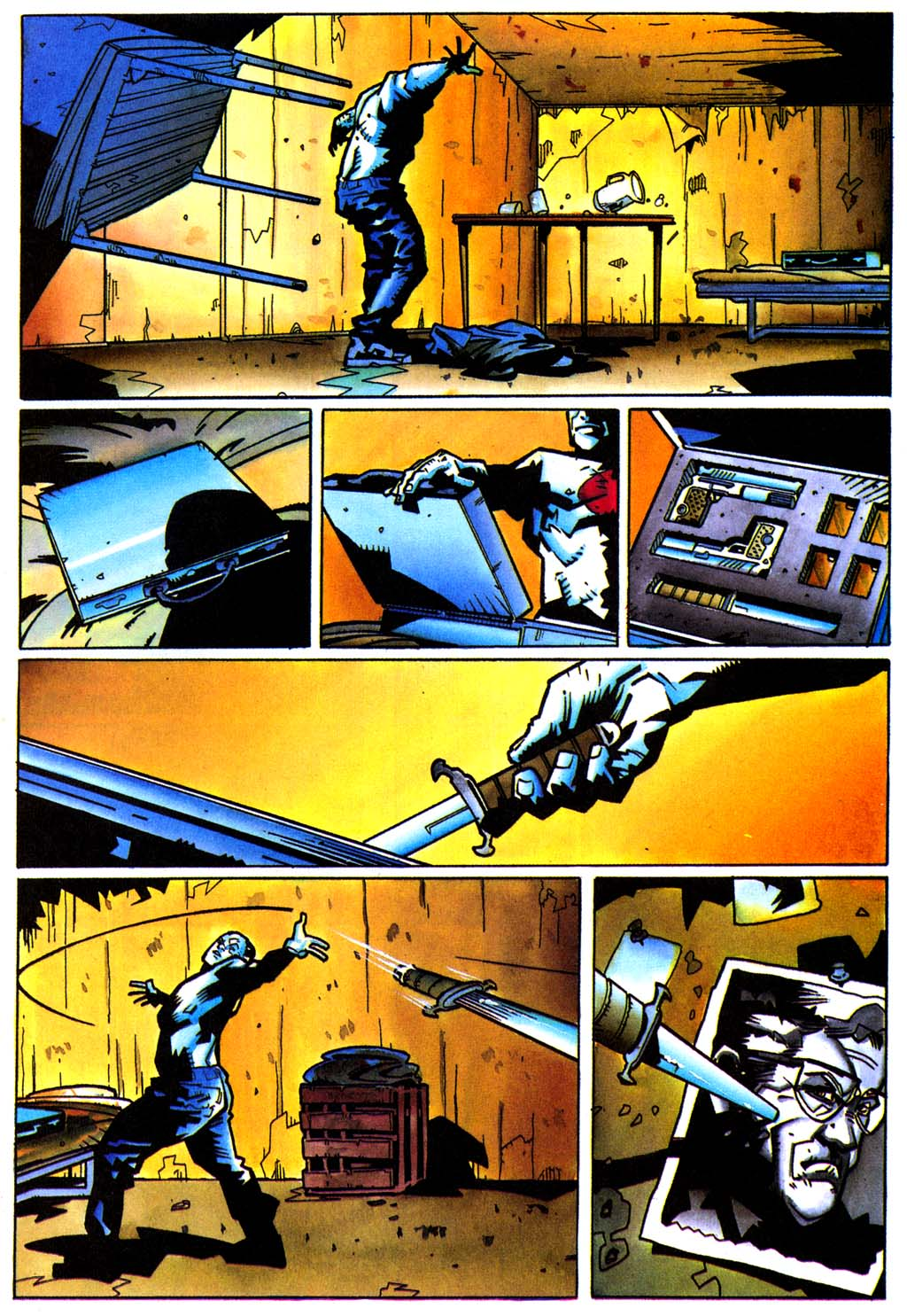 Read online Secret Weapons comic -  Issue #21 - 16