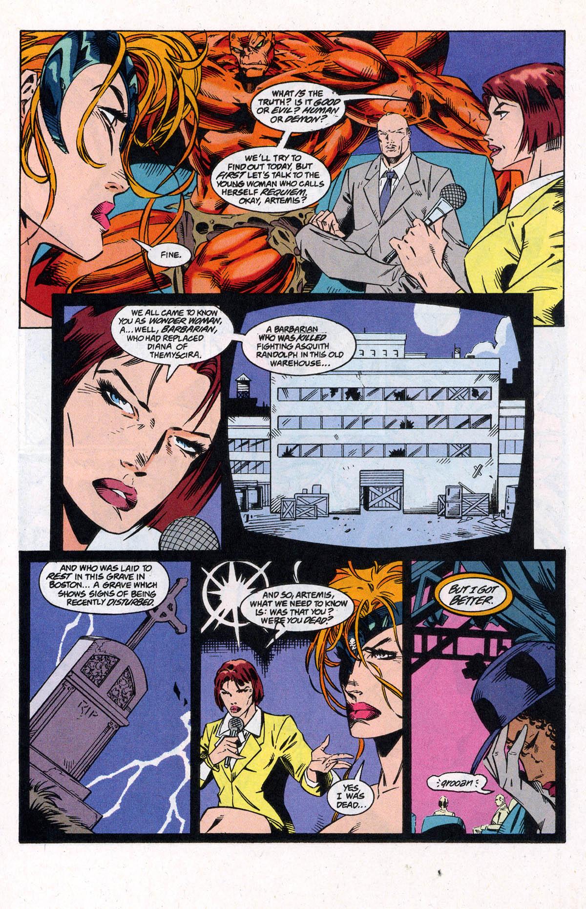Read online Artemis: Requiem comic -  Issue #4 - 17