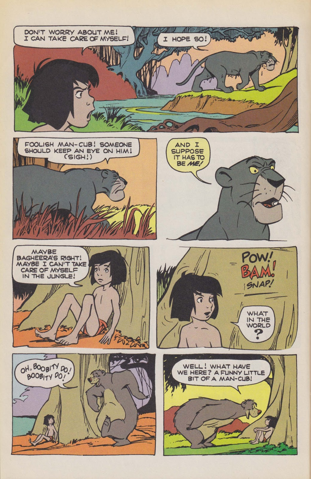 Read online The Jungle Book comic -  Issue # Full - 20
