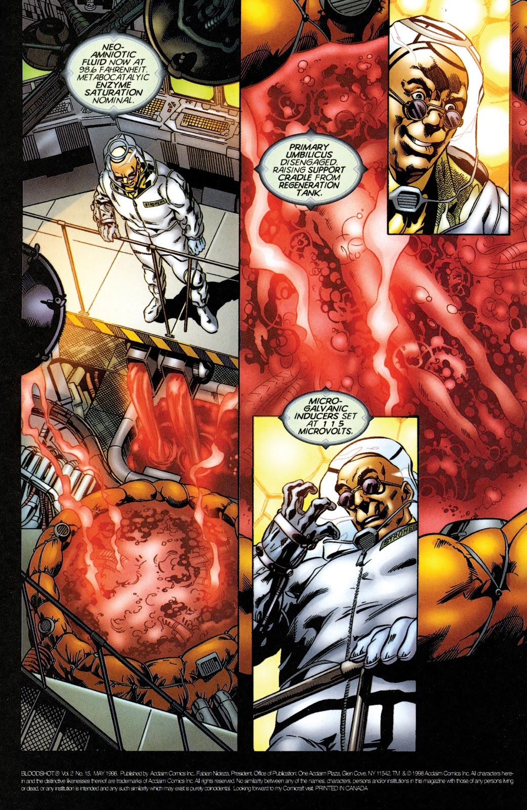 Bloodshot (1997) issue 15 - Page 2