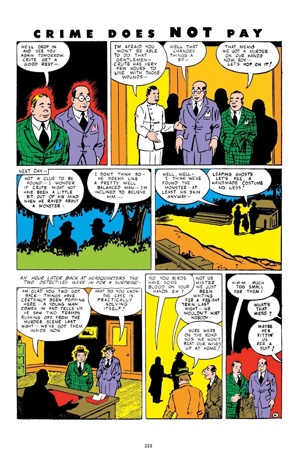 Read online Crime Does Not Pay Archives comic -  Issue # TPB 3 (Part 3) - 23