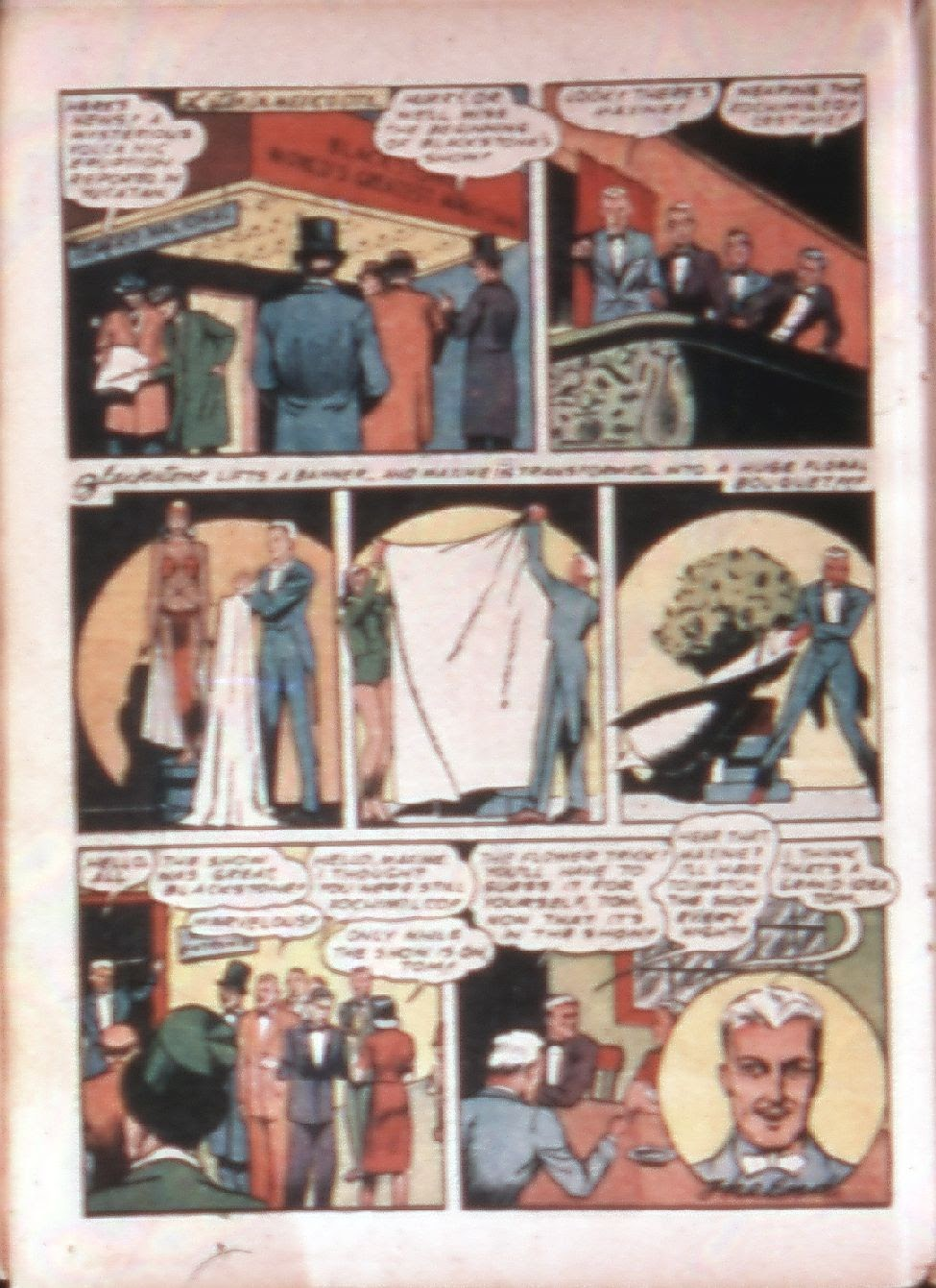 Read online Super-Magician Comics comic -  Issue #4 - 37