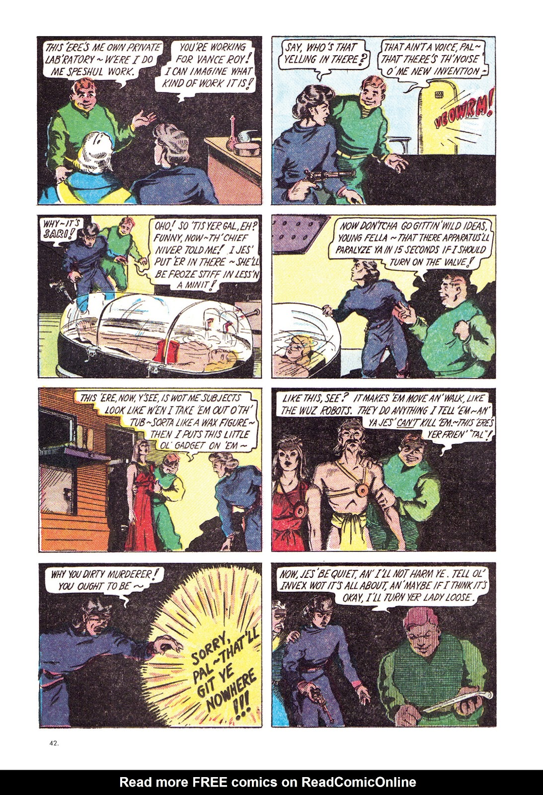Read online The Bill Everett Archives comic -  Issue # TPB 1 (Part 1) - 43