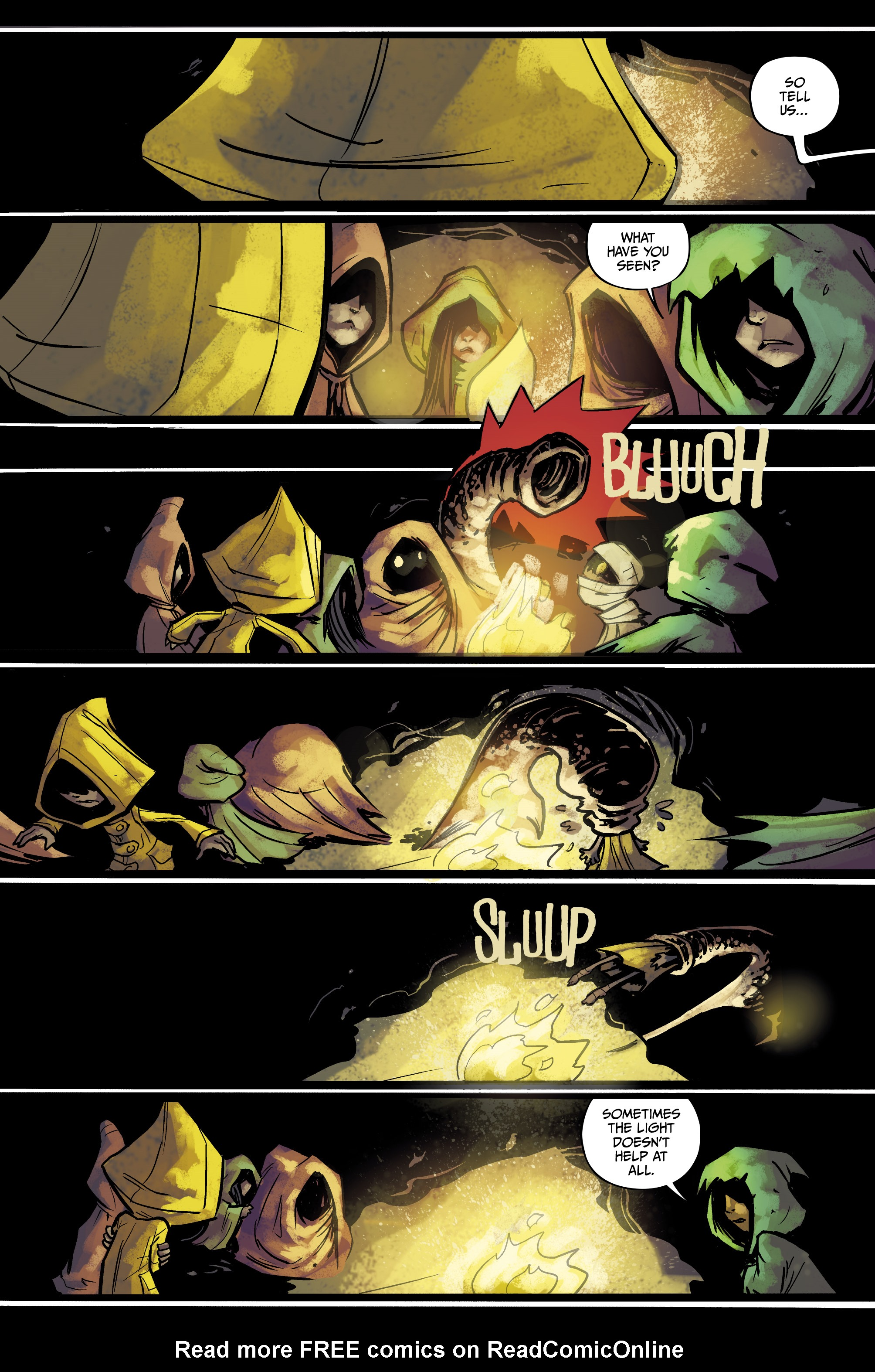 Read online Little Nightmares comic -  Issue #1 - 9