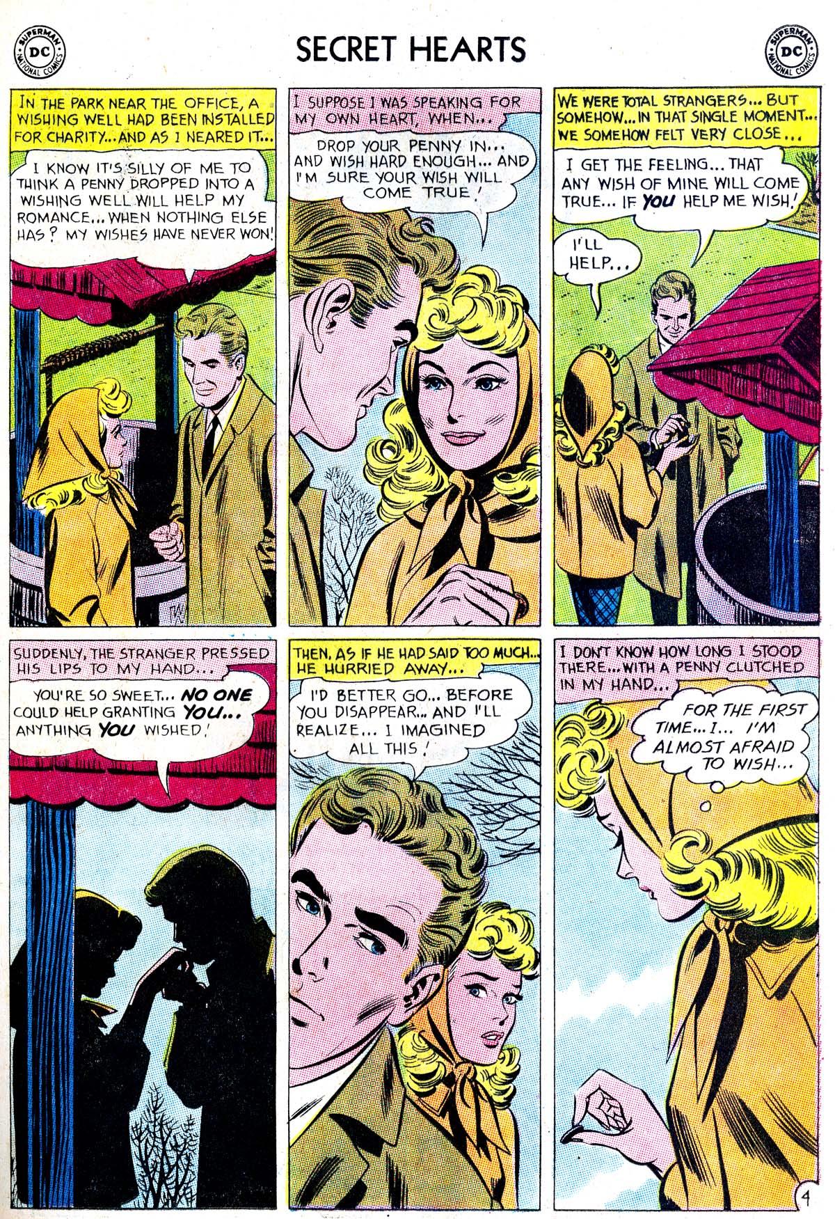 Read online Secret Hearts comic -  Issue #87 - 29