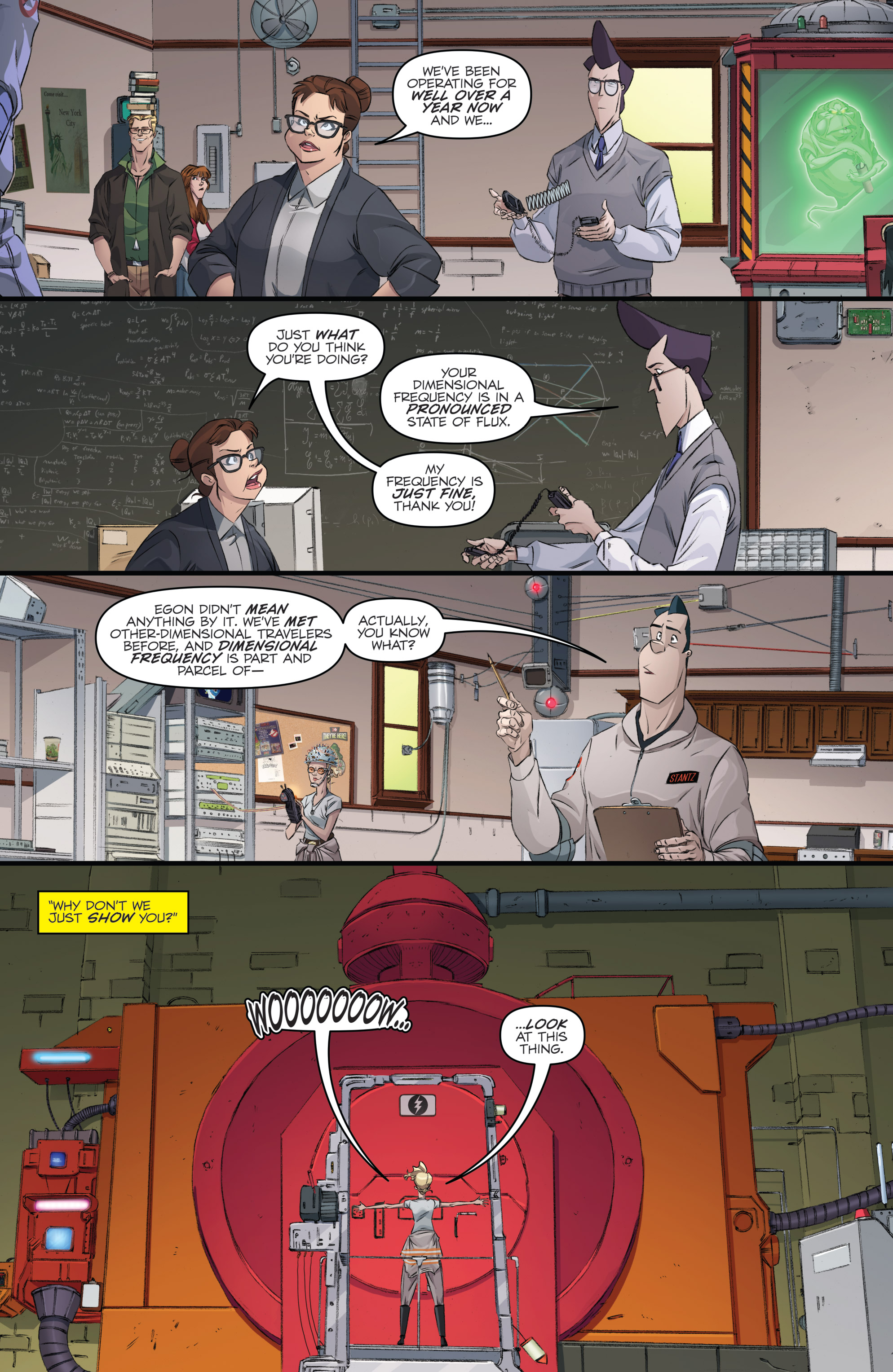 Read online Ghostbusters 101 comic -  Issue #3 - 17