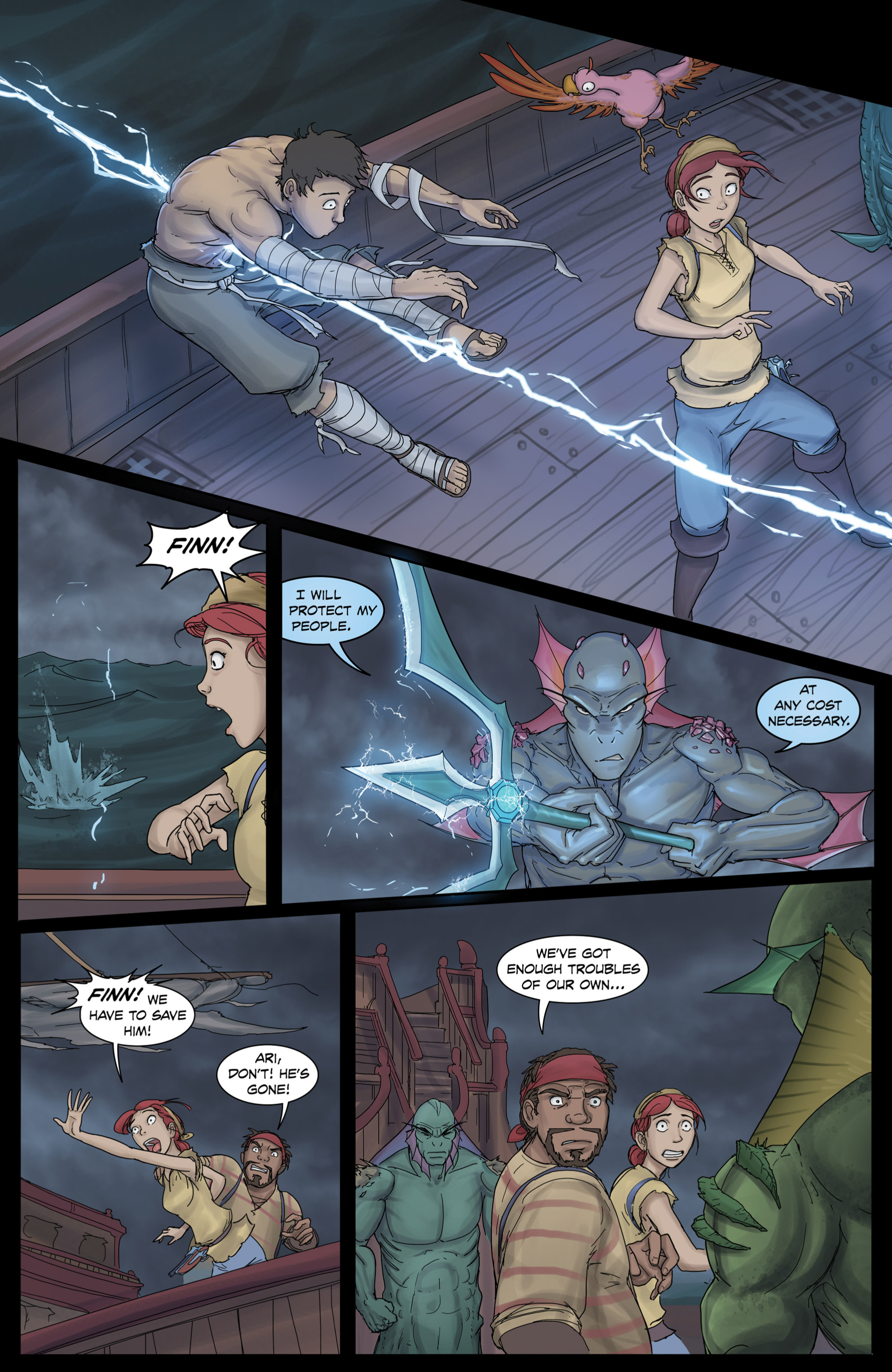 Read online Anne Bonnie comic -  Issue #3 - 14