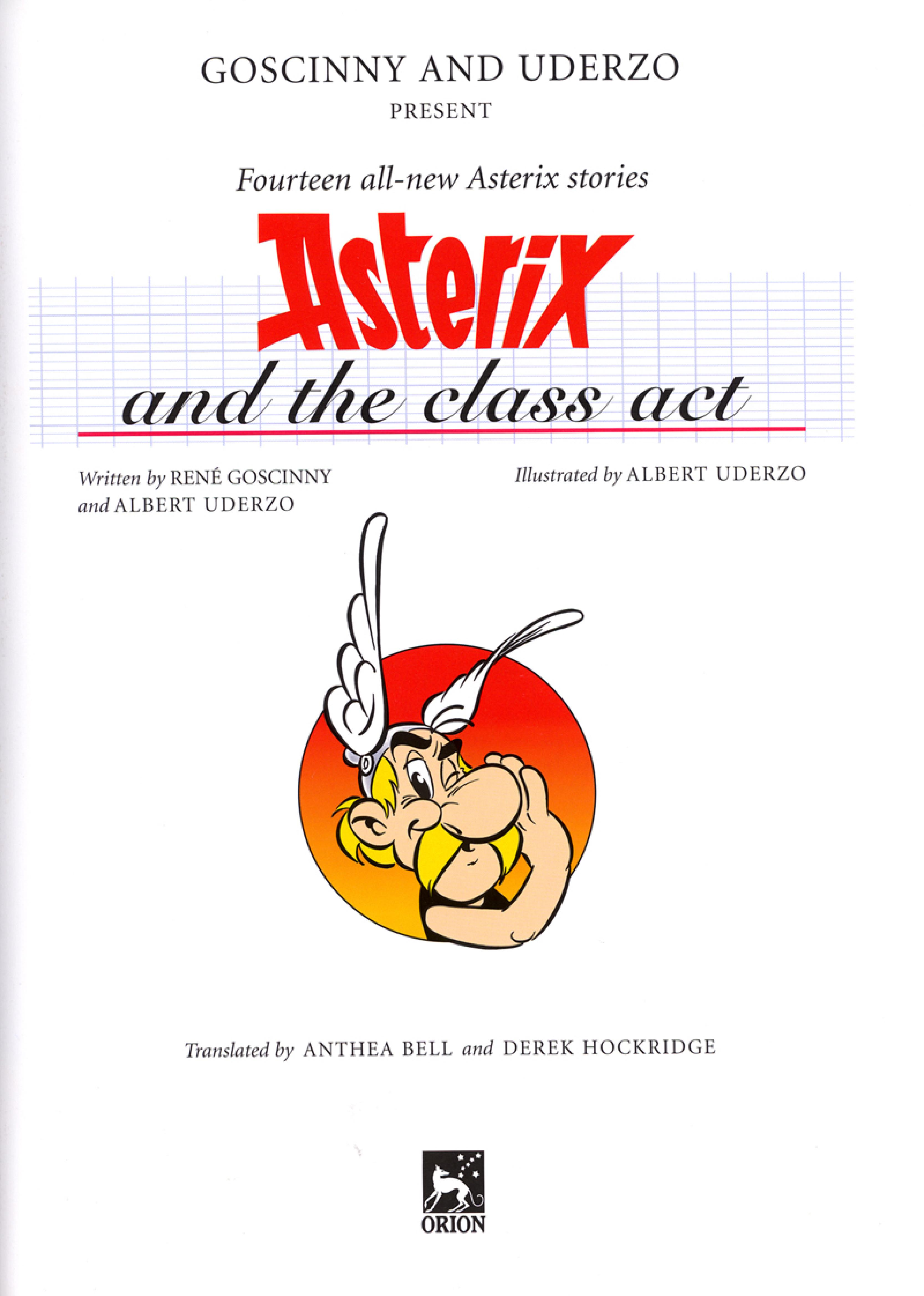 Read online Asterix comic -  Issue #32 - 2