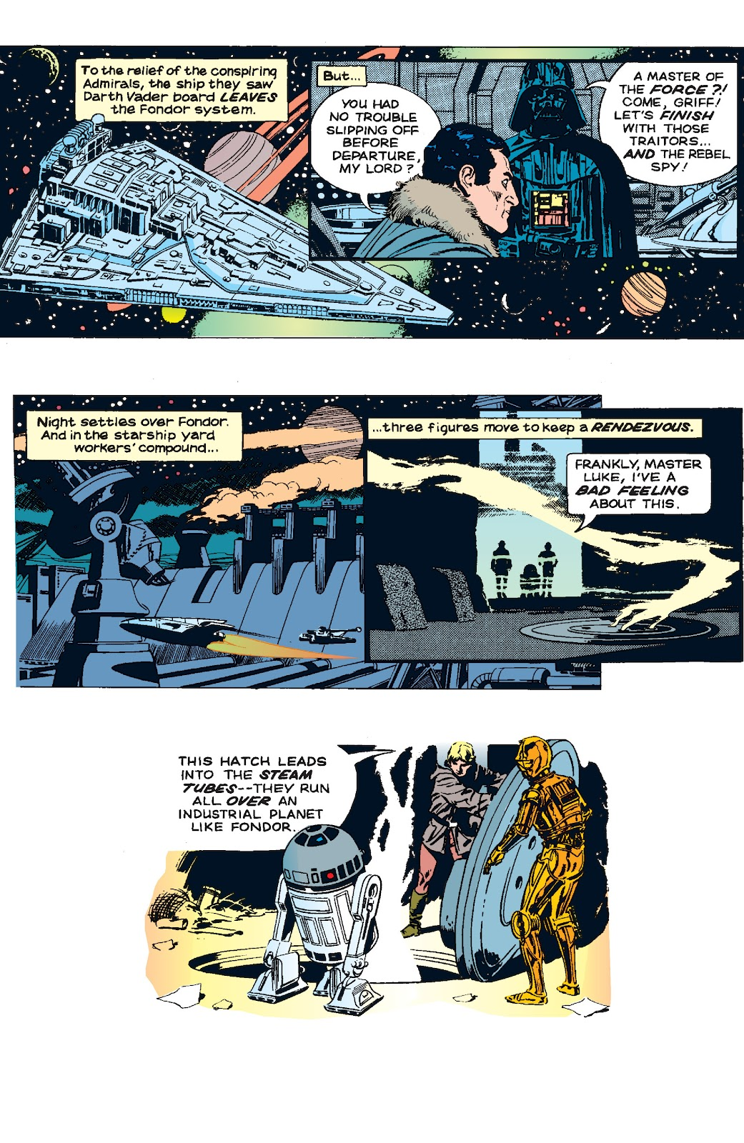 Read online Star Wars Legends: The Newspaper Strips - Epic Collection comic -  Issue # TPB (Part 5) - 57