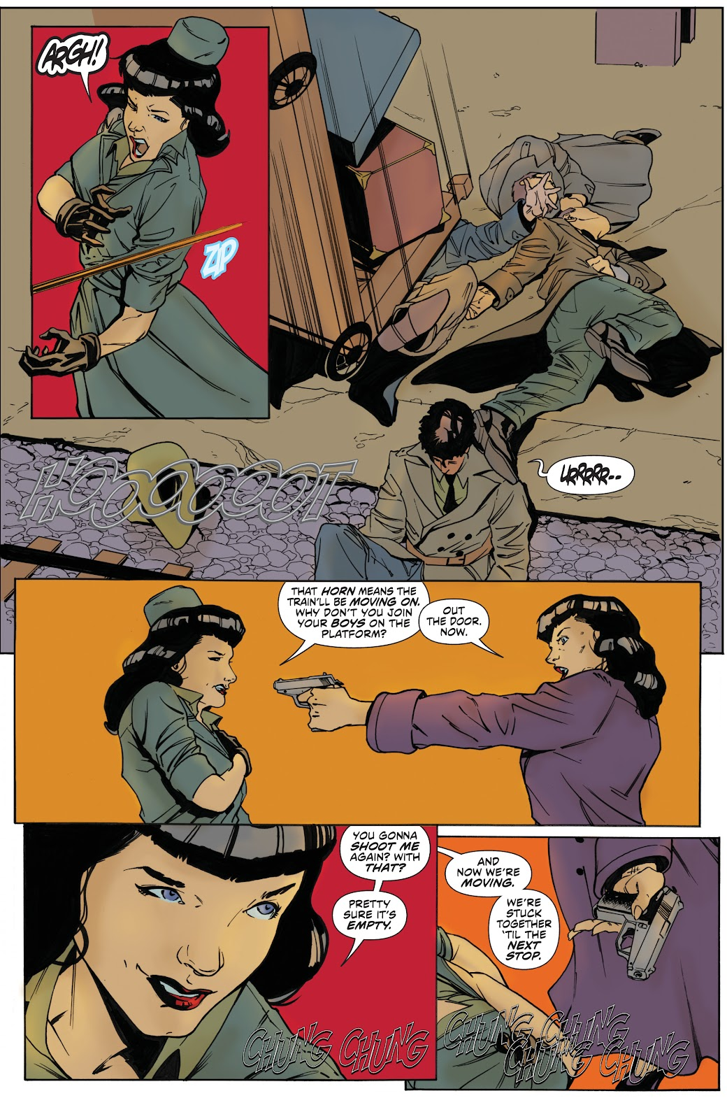 Read online Bettie Page: Unbound comic -  Issue #8 - 17