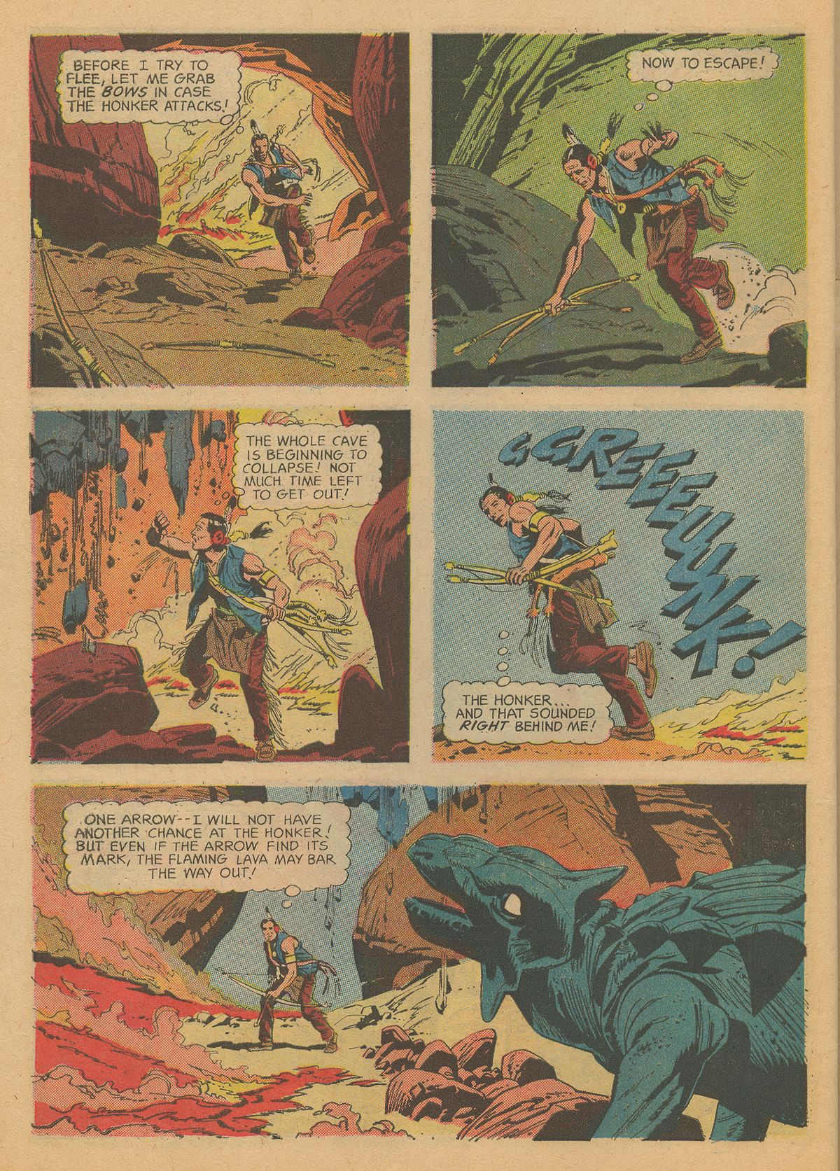 Read online Turok, Son of Stone comic -  Issue #60 - 30