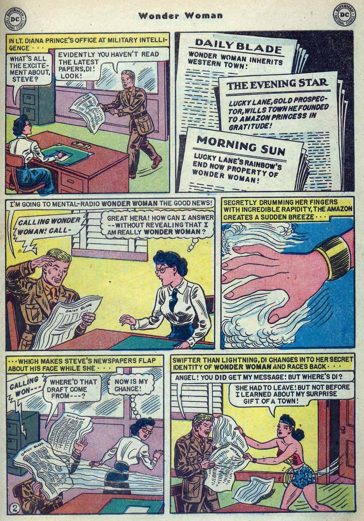 Read online Wonder Woman (1942) comic -  Issue #53 - 33