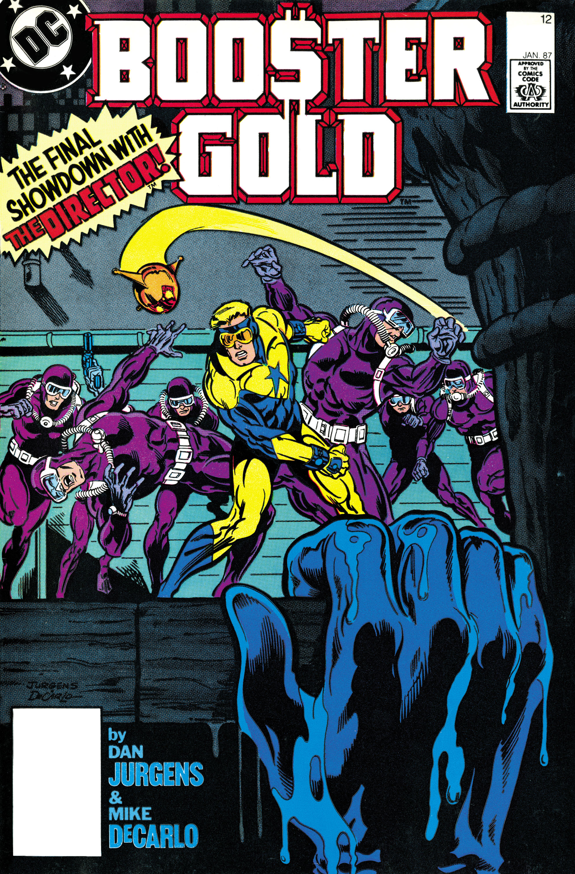 Booster Gold 1986 Issue 12