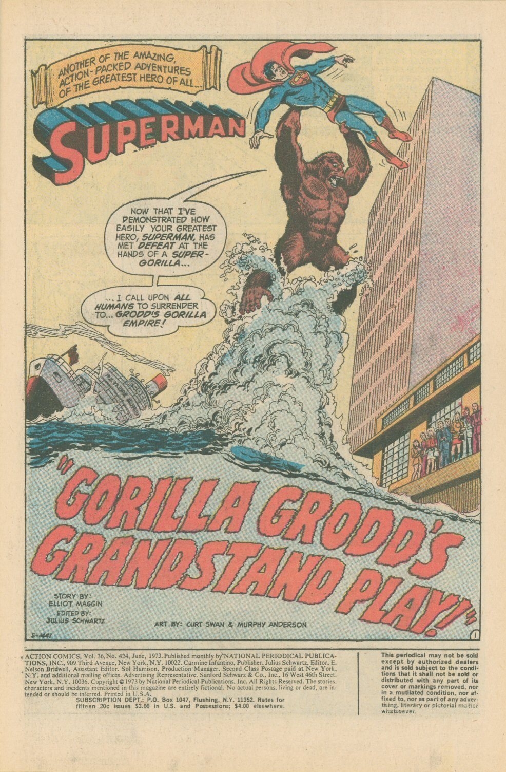 Action Comics (1938) 424 Page 2