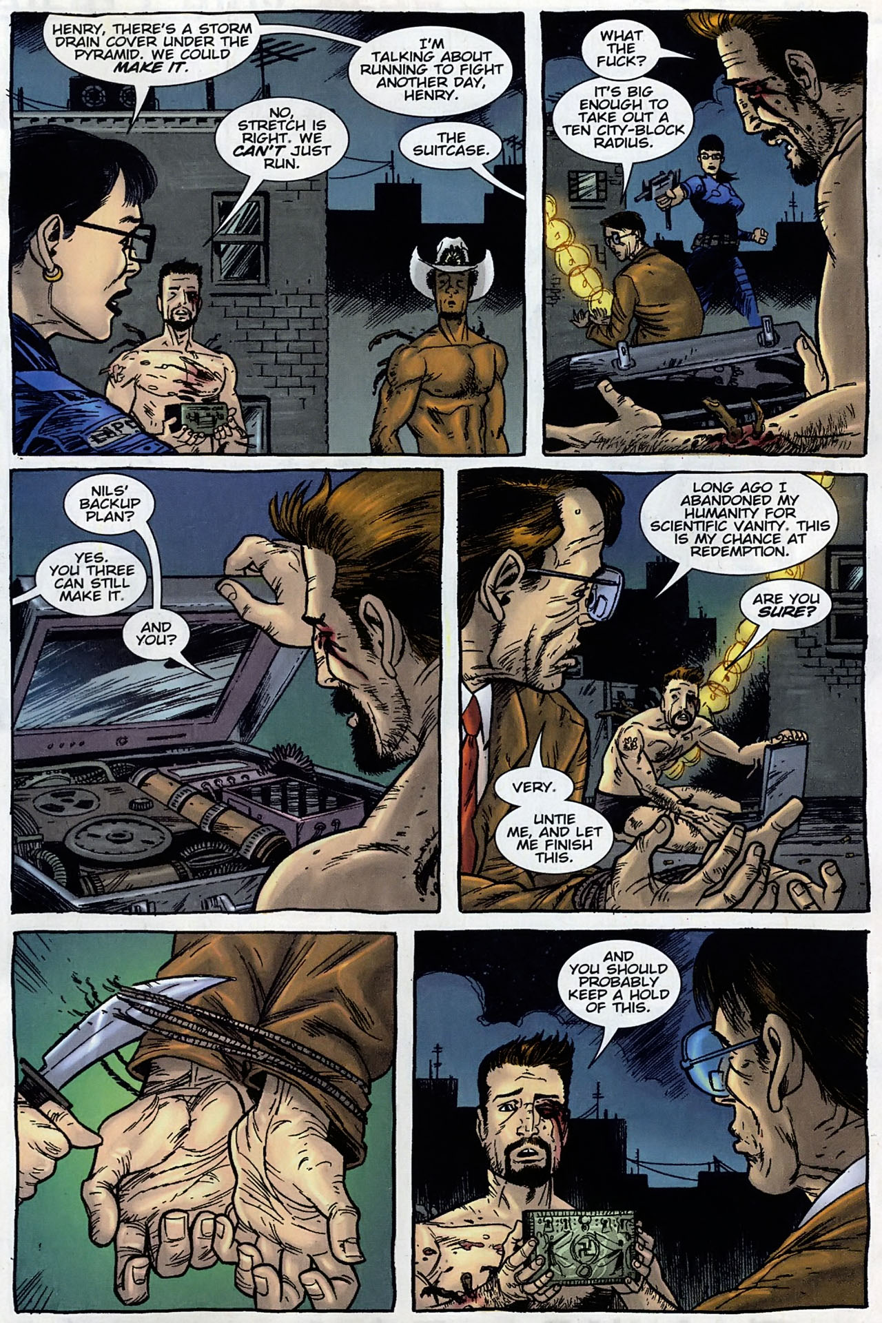 Read online The Exterminators comic -  Issue #30 - 19