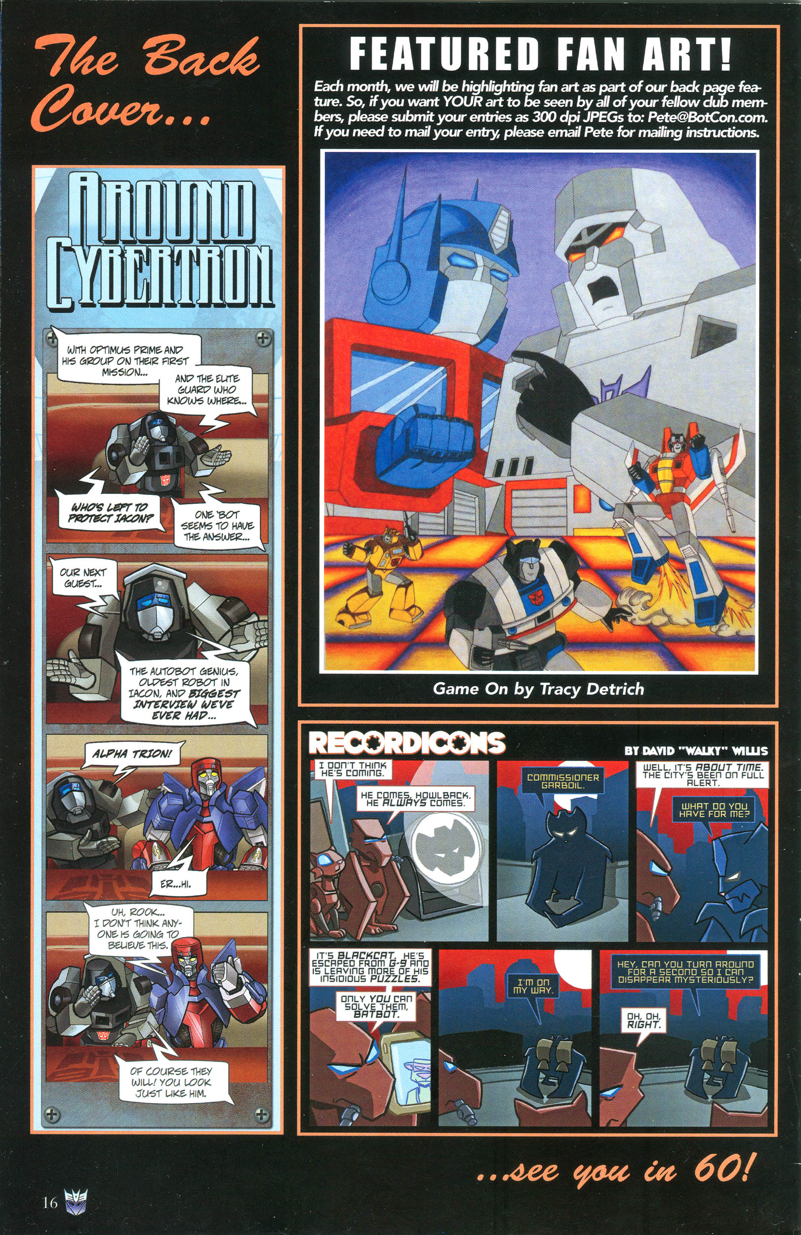 Read online Transformers: Collectors' Club comic -  Issue #38 - 16