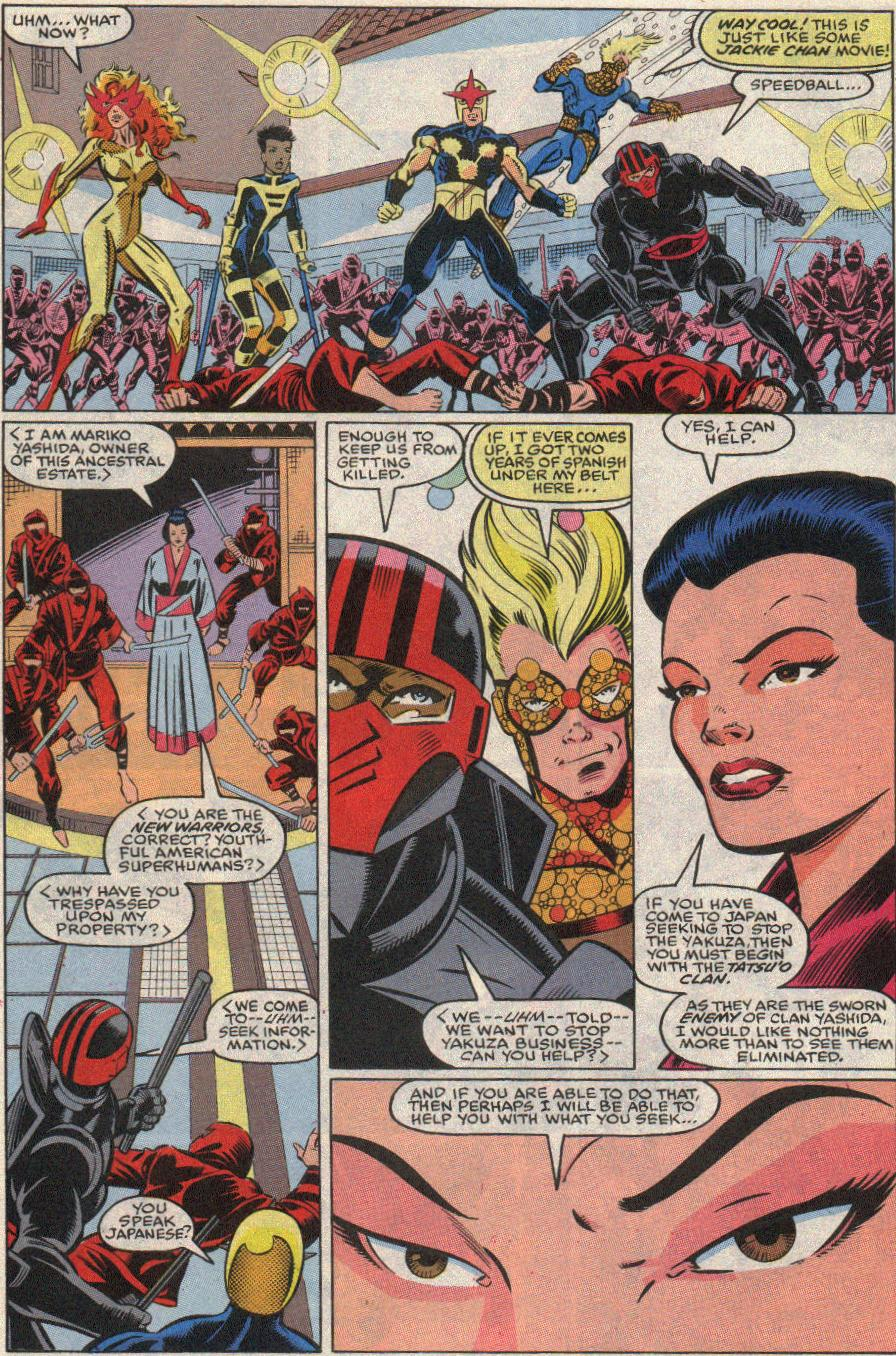 The New Warriors Issue #20 #24 - English 5