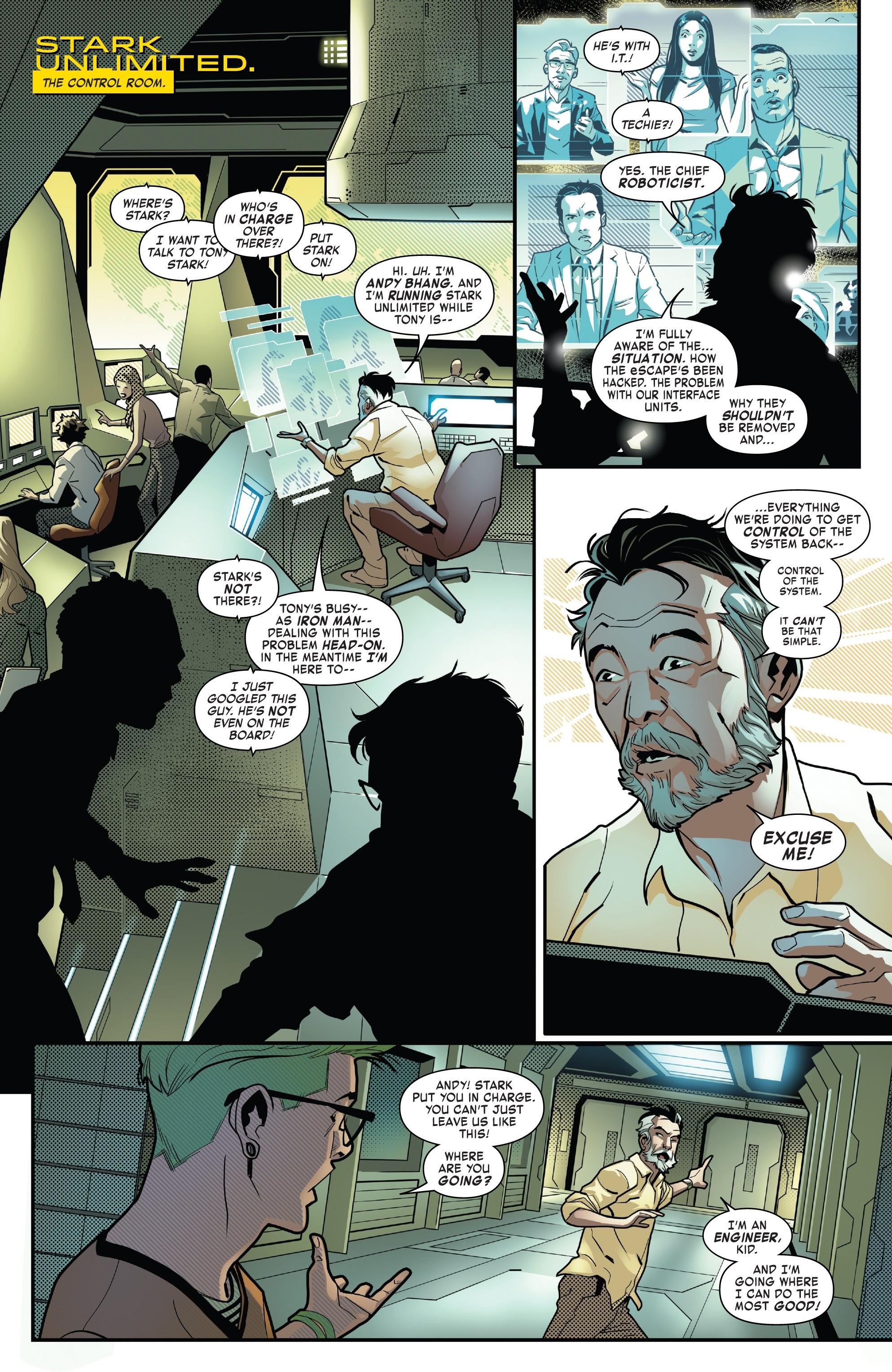 Read online Tony Stark: Iron Man comic -  Issue #8 - 11