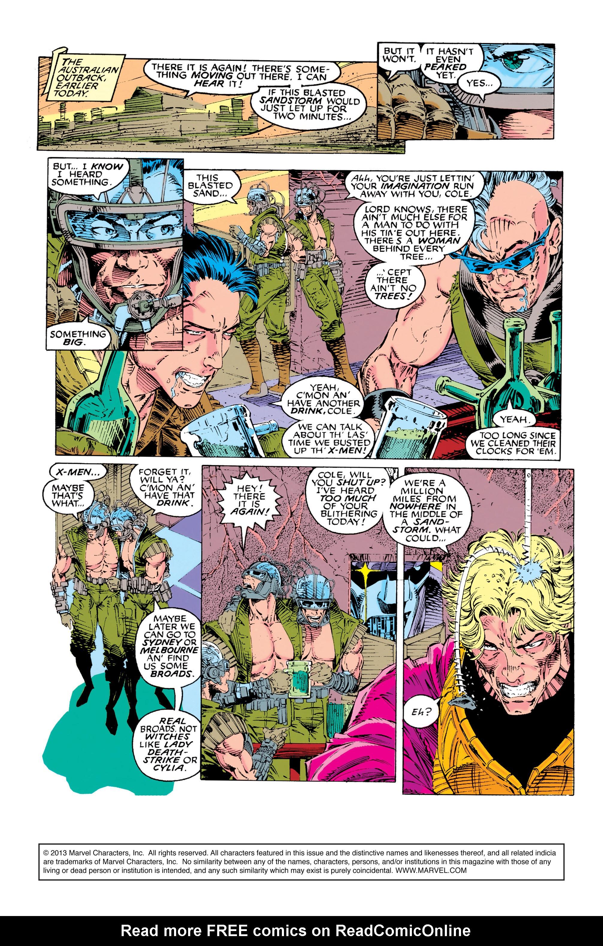 Read online Uncanny X-Men (1963) comic -  Issue #281 - 3