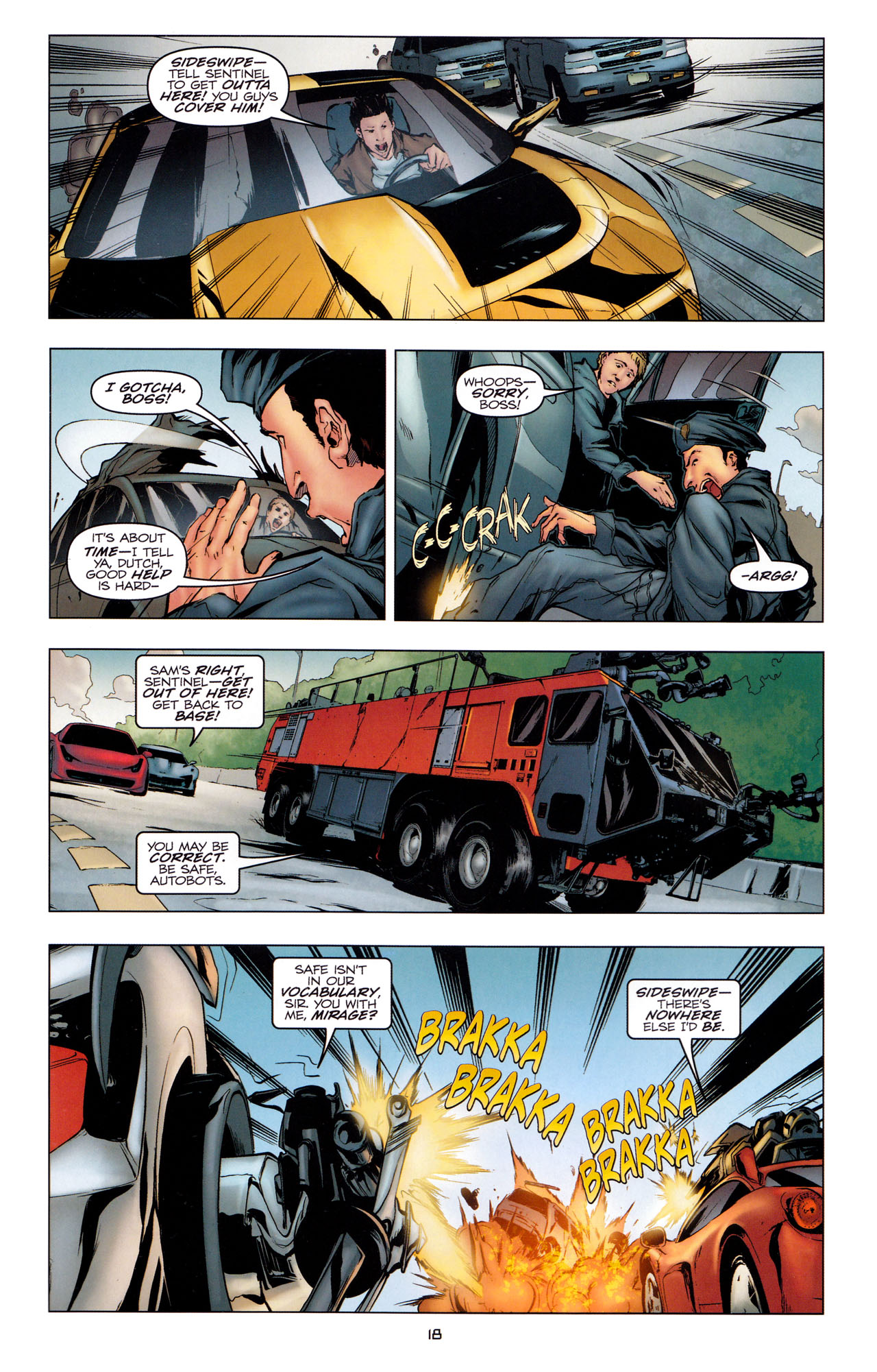 Read online Transformers: Dark of the Moon Movie Adaptation comic -  Issue #2 - 20